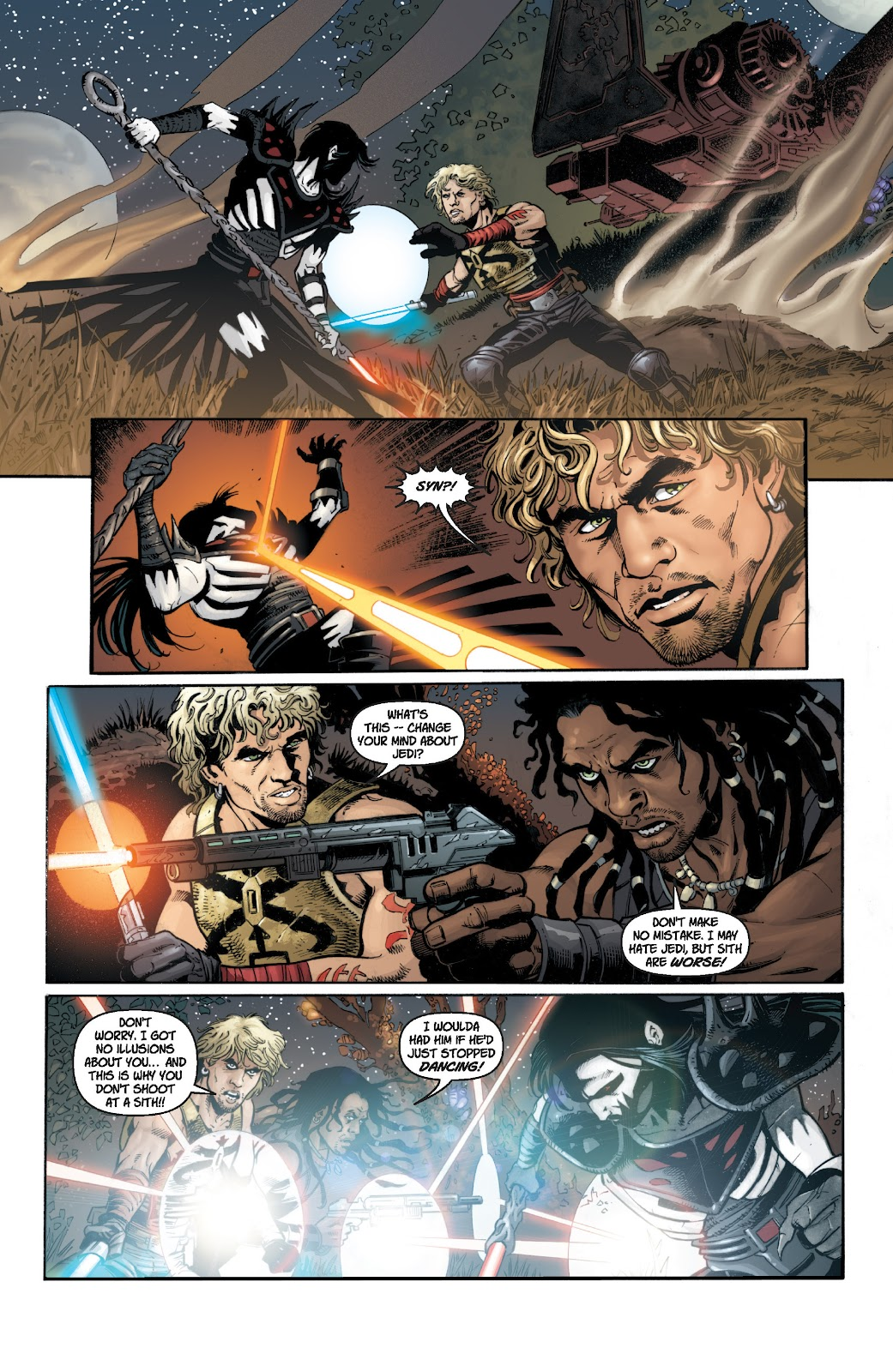 Read online Star Wars Legends: Legacy - Epic Collection comic -  Issue # TPB 1 (Part 2) - 35