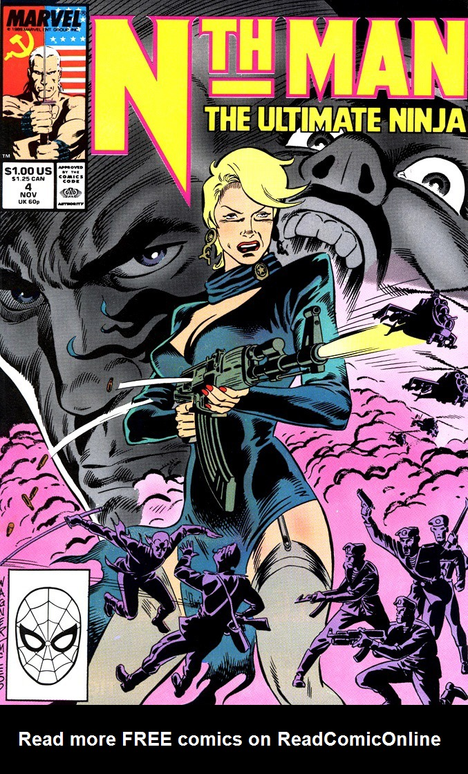 Read online Nth Man the Ultimate Ninja comic -  Issue #4 - 1