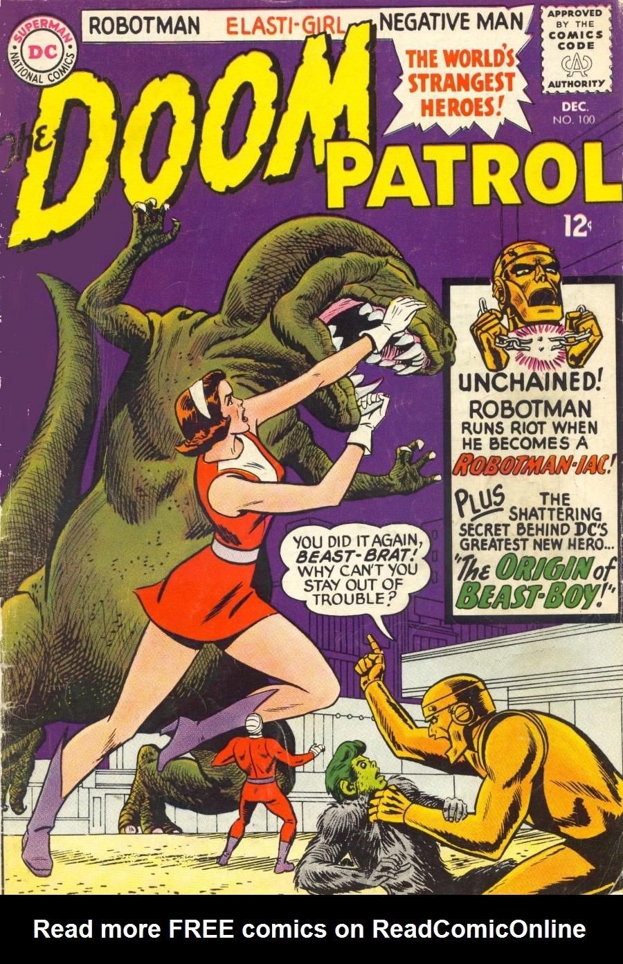 Doom Patrol (1964) 100 Page 1