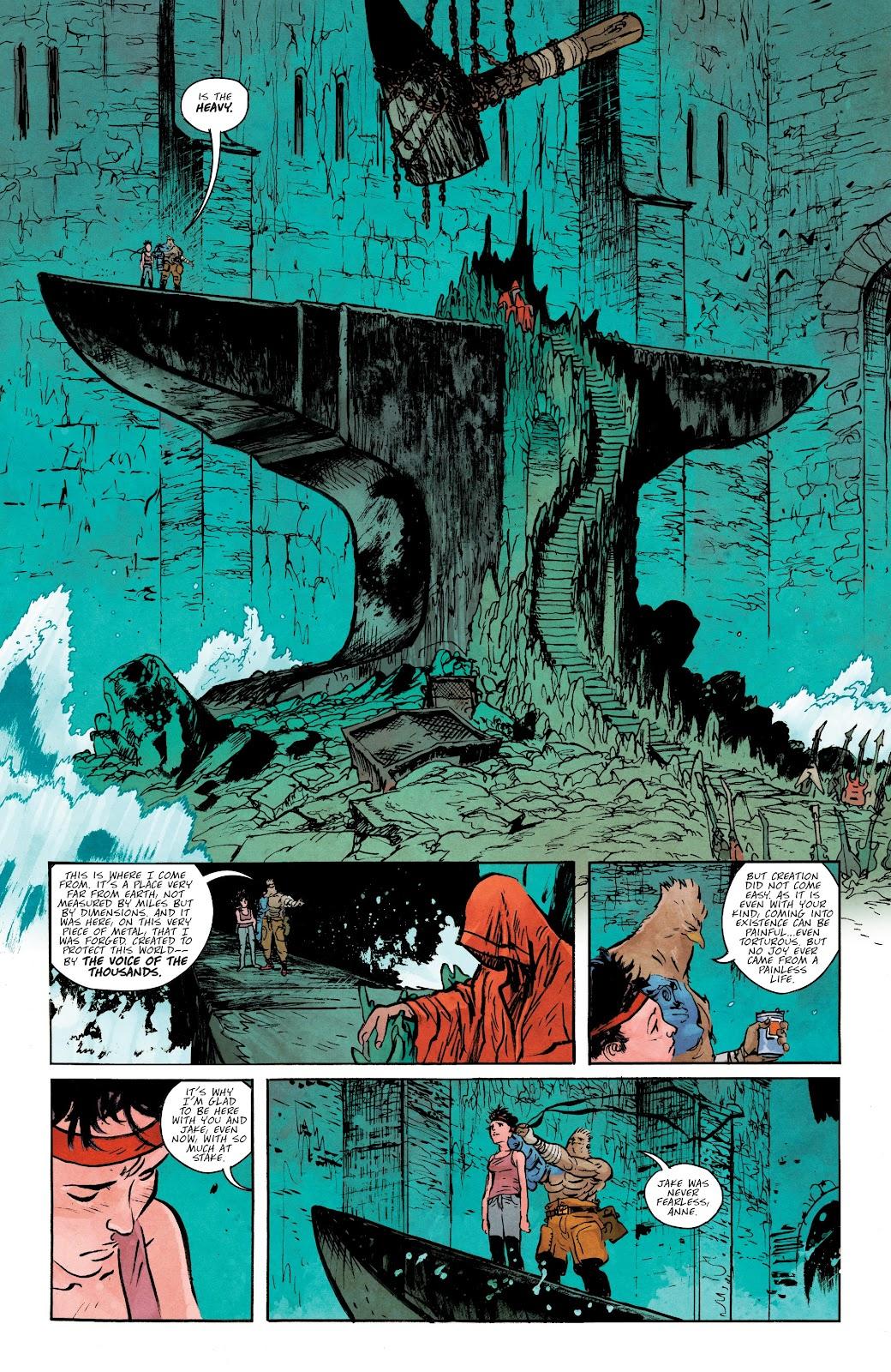 Read online Murder Falcon comic -  Issue #5 - 14