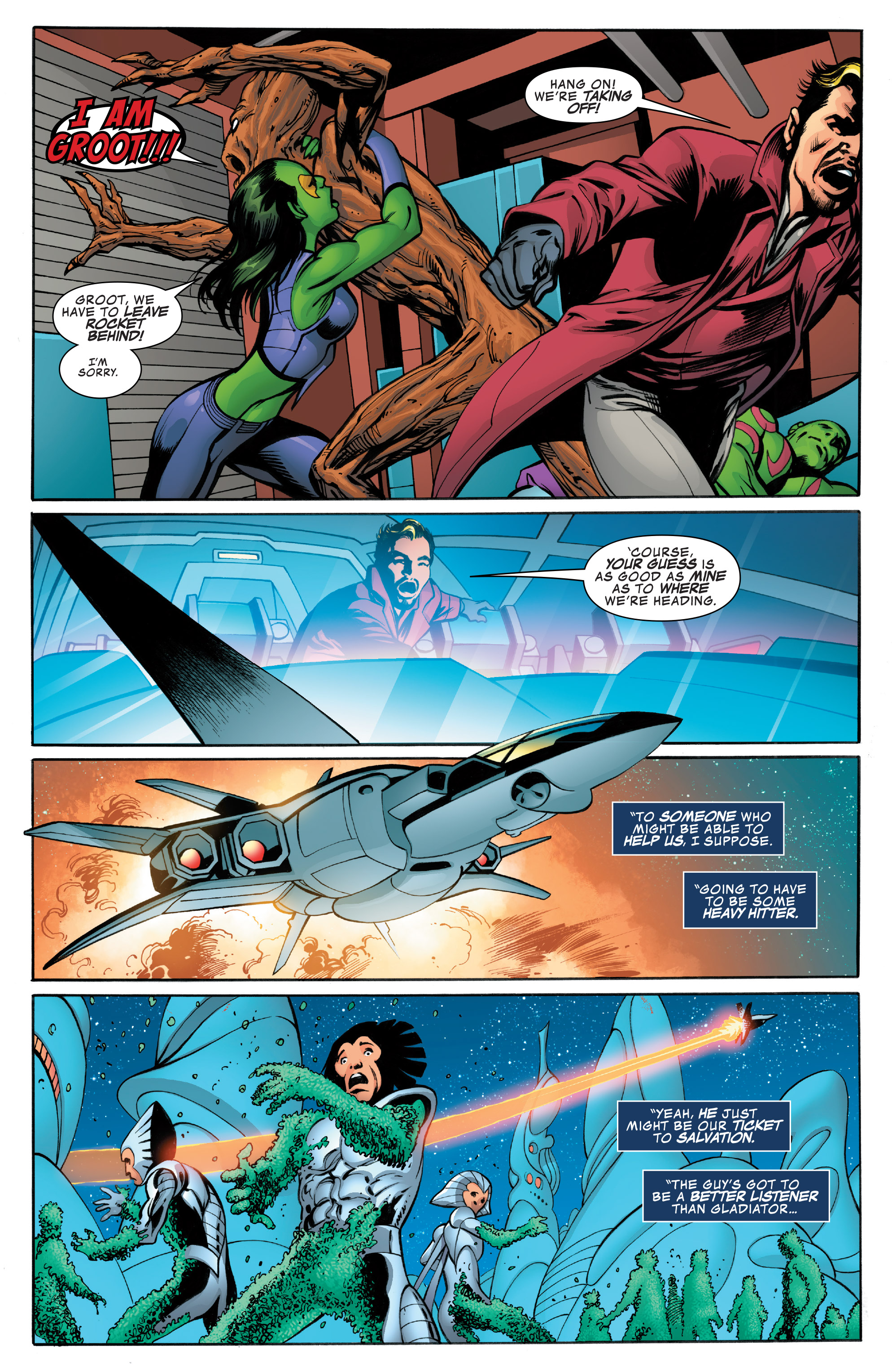 Read online Guardians of the Galaxy: Mother Entropy comic -  Issue #4 - 11