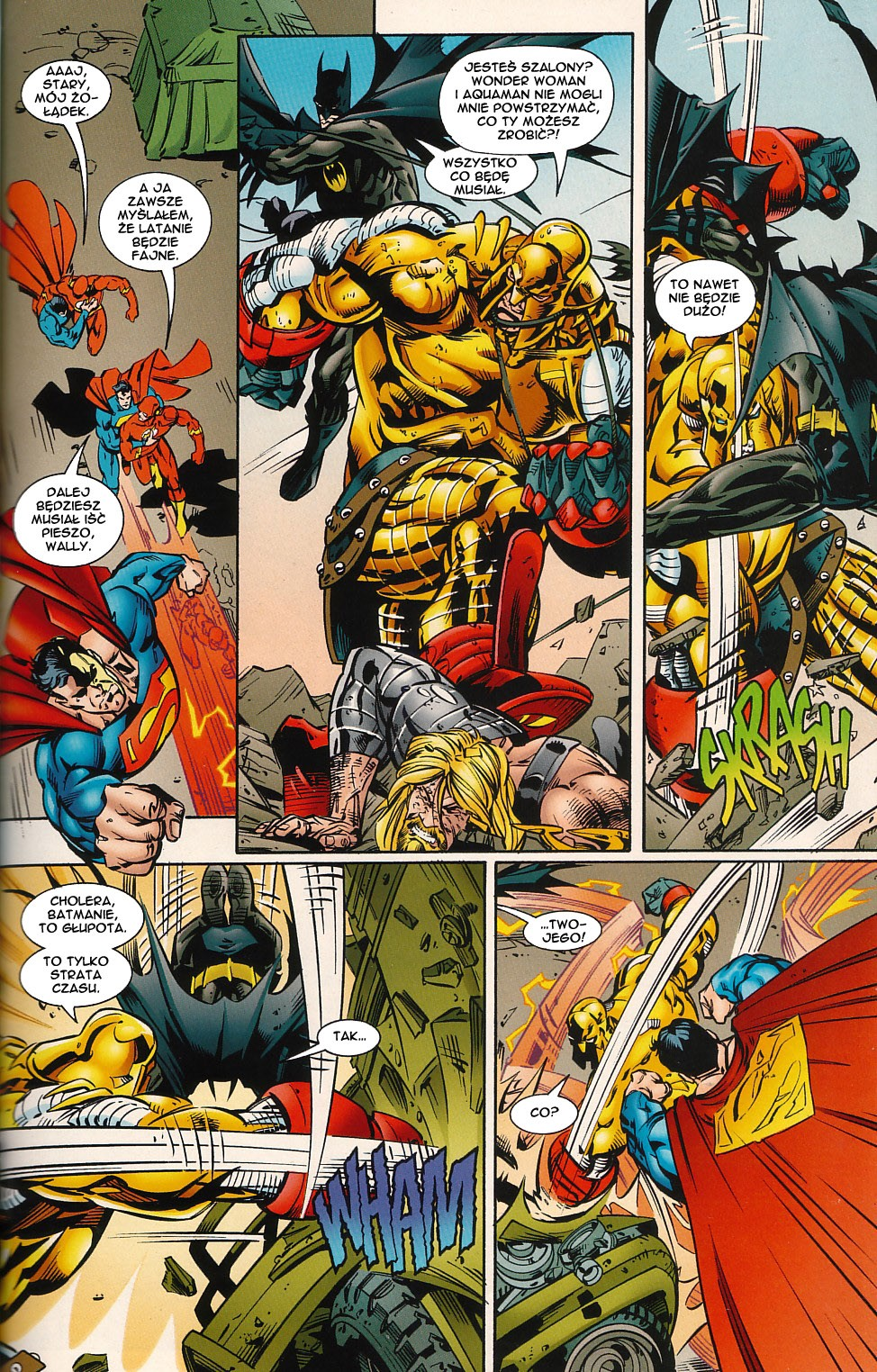 Read online JLA Superpower comic -  Issue # Full - 55