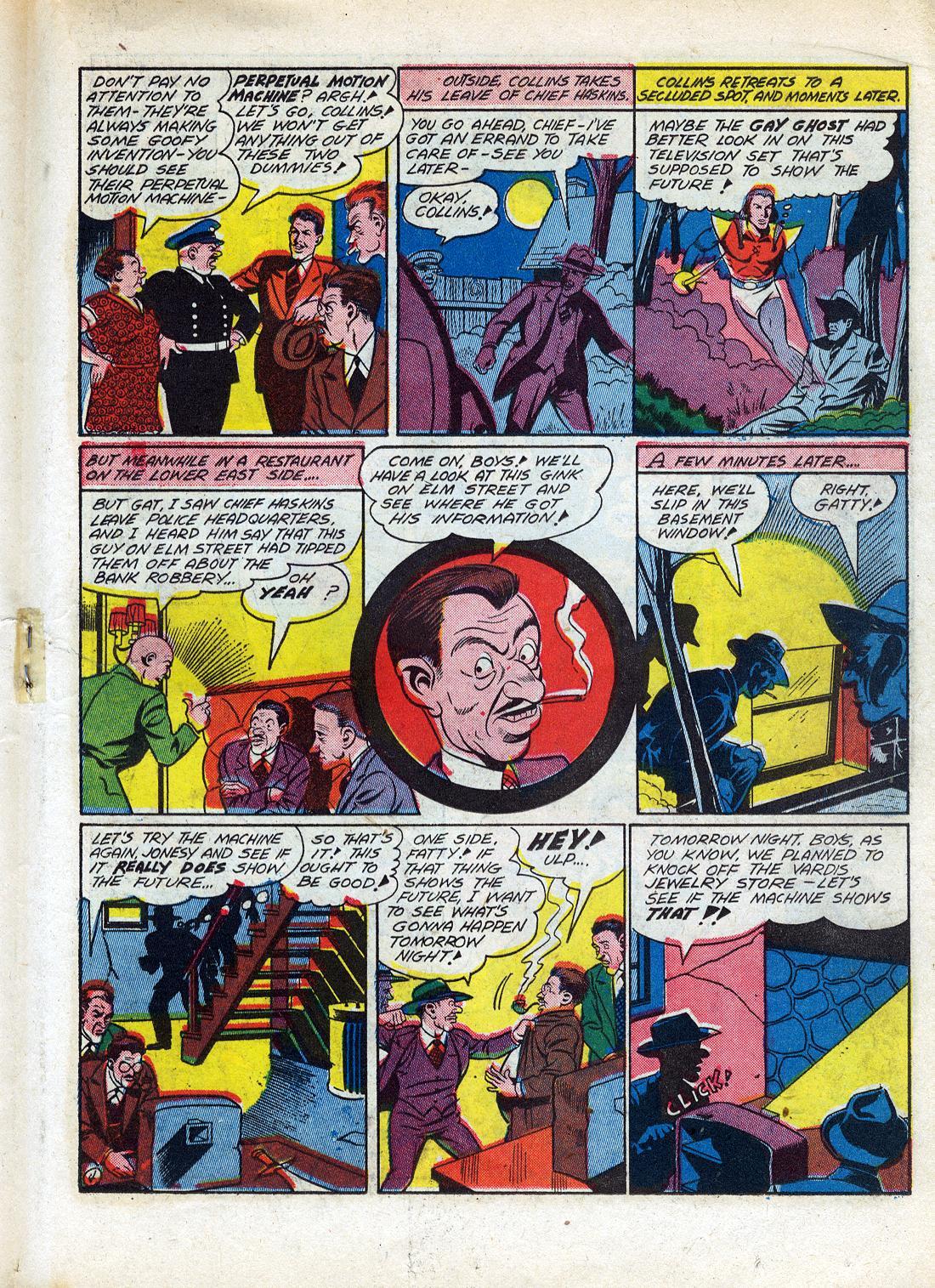 Read online Sensation (Mystery) Comics comic -  Issue #26 - 35