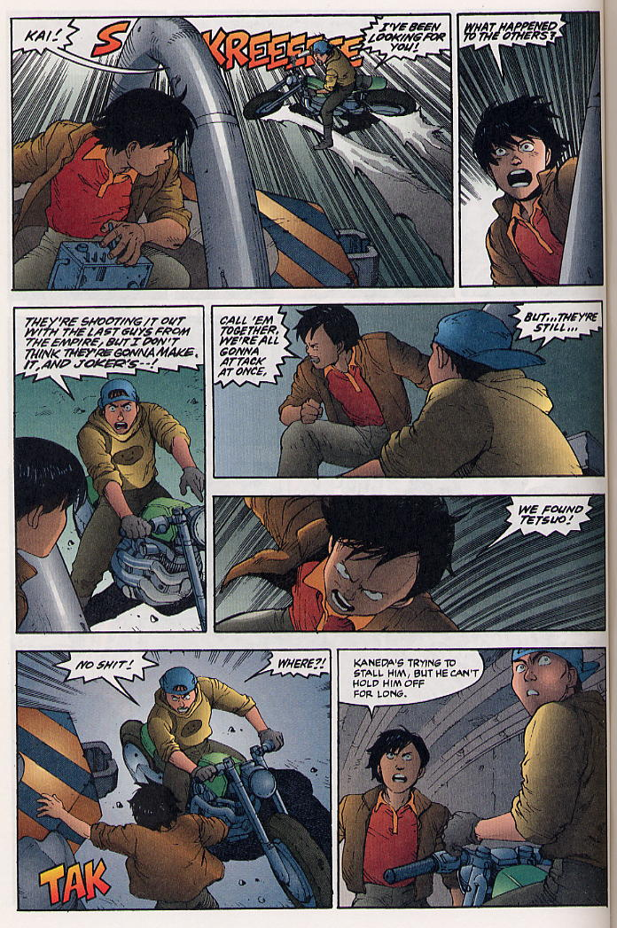 Read online Akira comic -  Issue #32 - 43