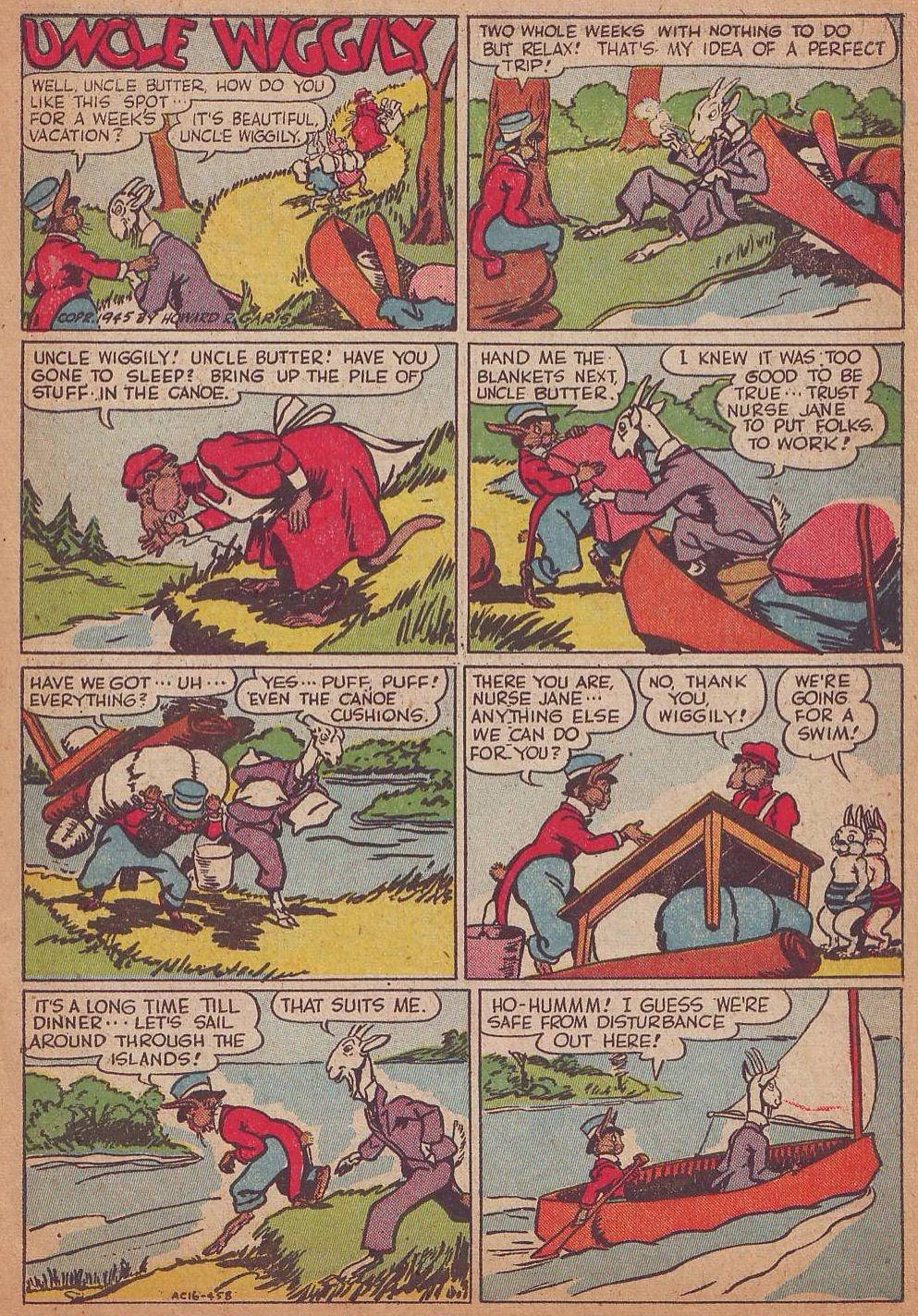 Read online Animal Comics comic -  Issue #16 - 3