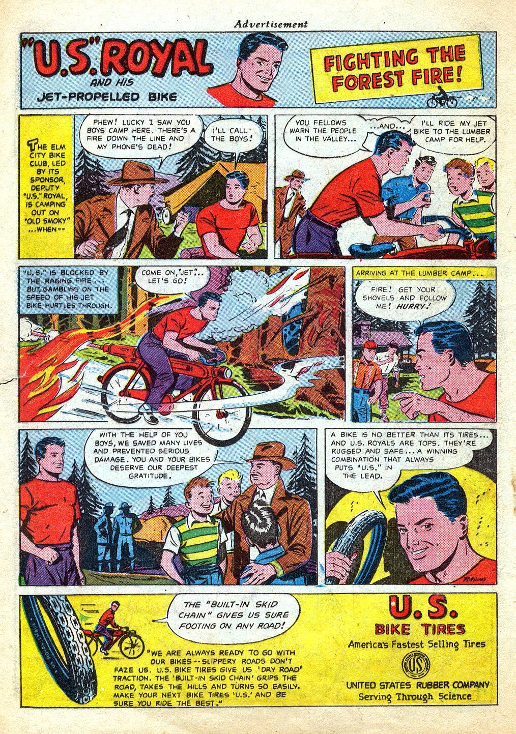 Read online Sensation (Mystery) Comics comic -  Issue #60 - 16