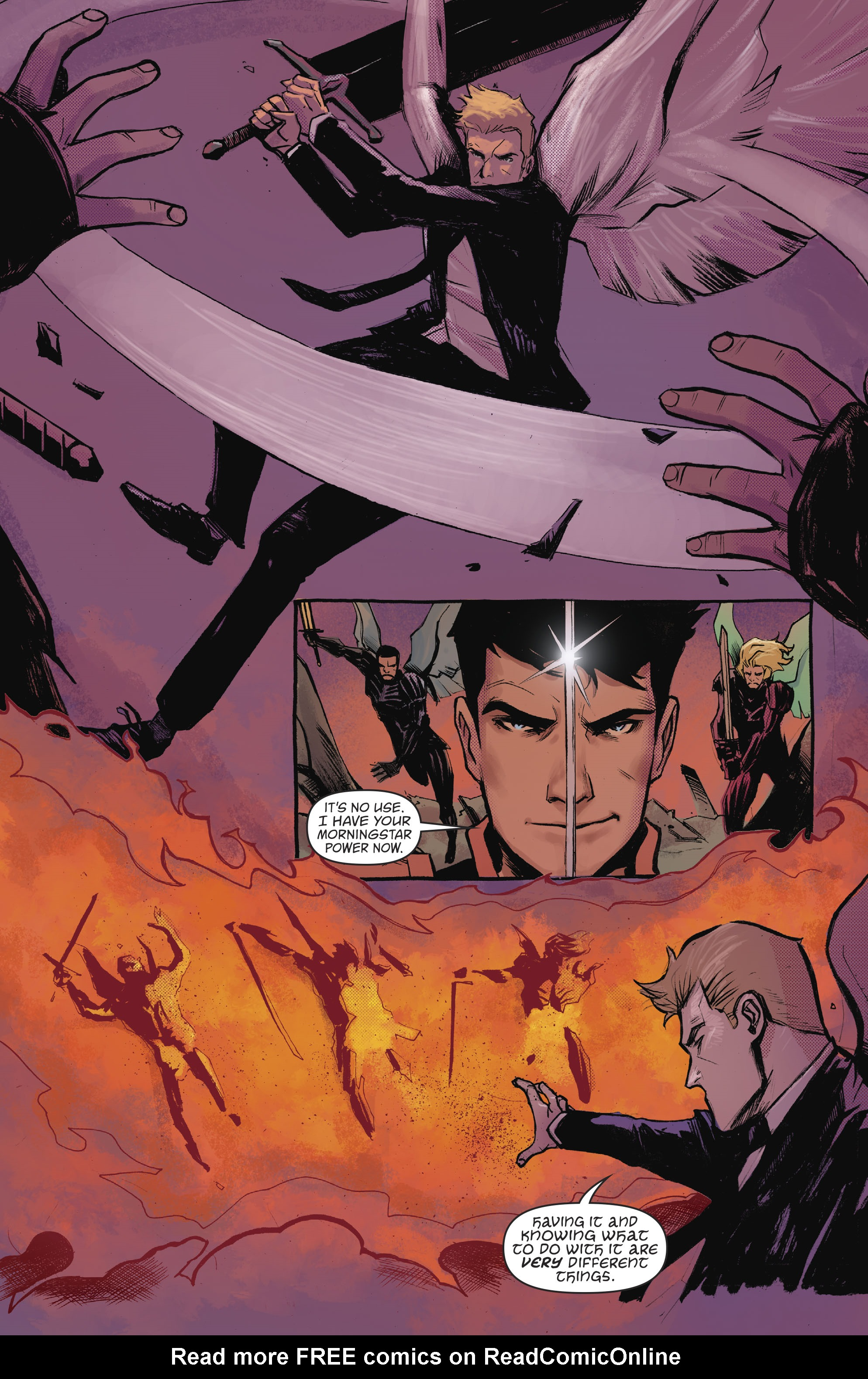 Read online Lucifer (2016) comic -  Issue #18 - 3