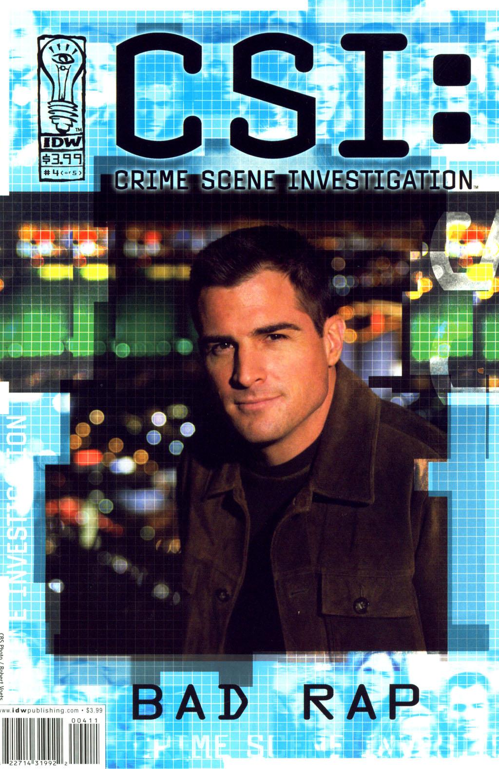 Read online CSI: Crime Scene Investigation: Bad Rap comic -  Issue #4 - 1