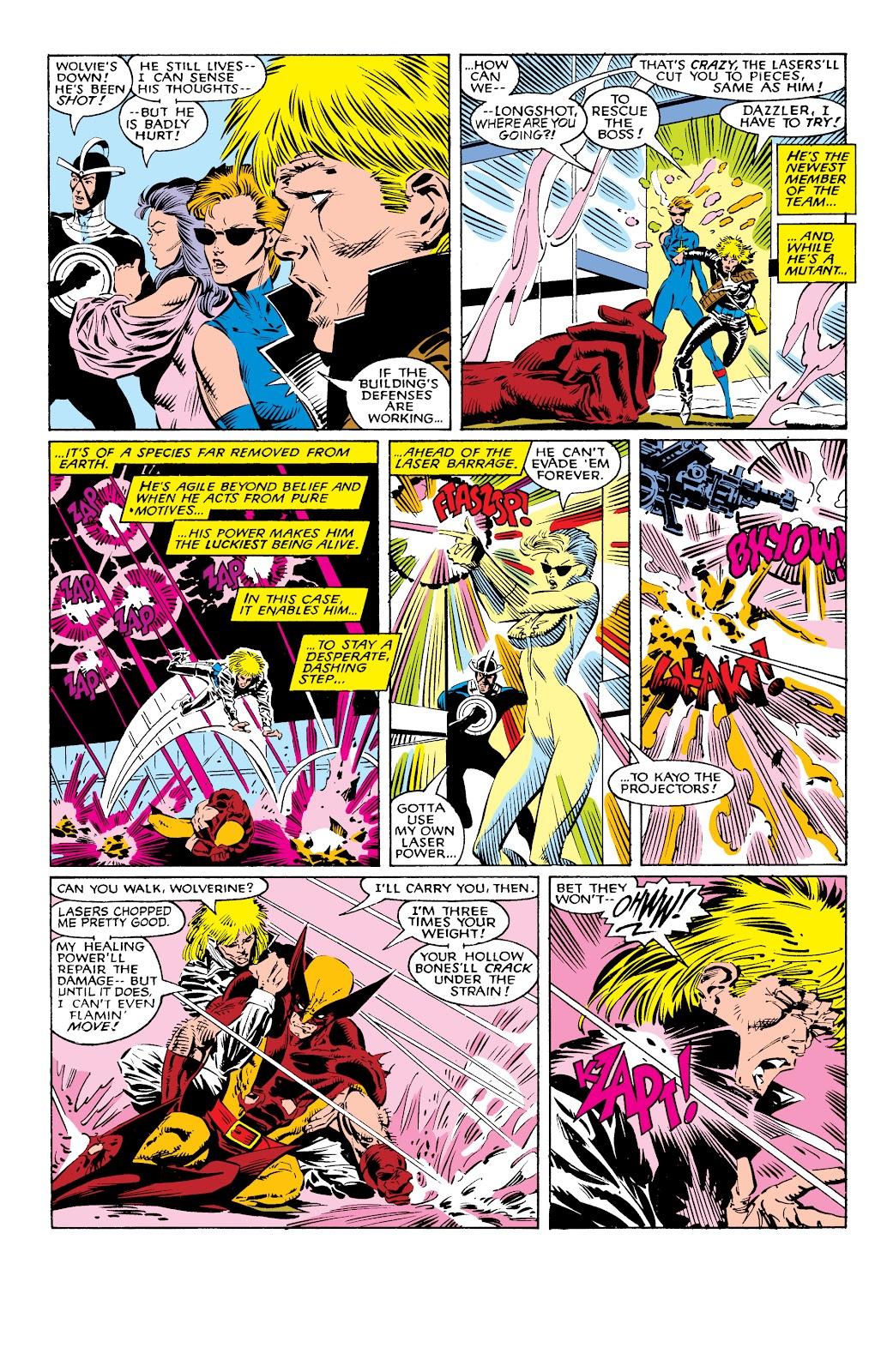 Read online X-Men Milestones: Fall of the Mutants comic -  Issue # TPB (Part 1) - 17