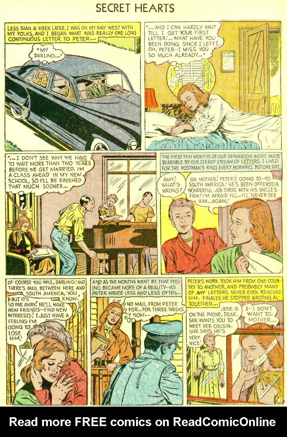Read online Secret Hearts comic -  Issue #21 - 13