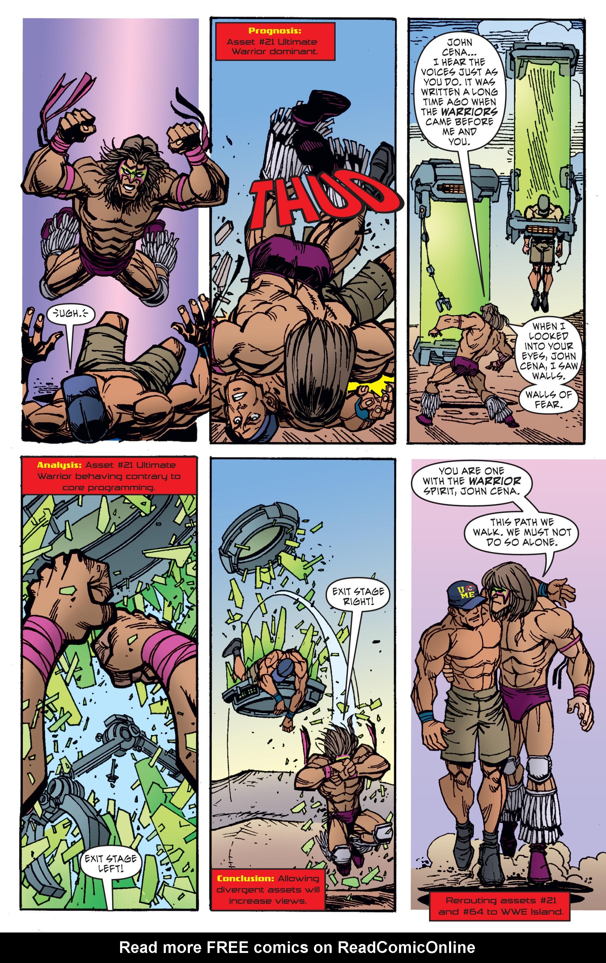 Read online WWE Superstars comic -  Issue #11 - 5