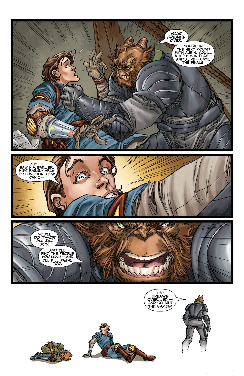 Read online Star Wars Legends: The Old Republic - Epic Collection comic -  Issue # TPB 3 (Part 1) - 52