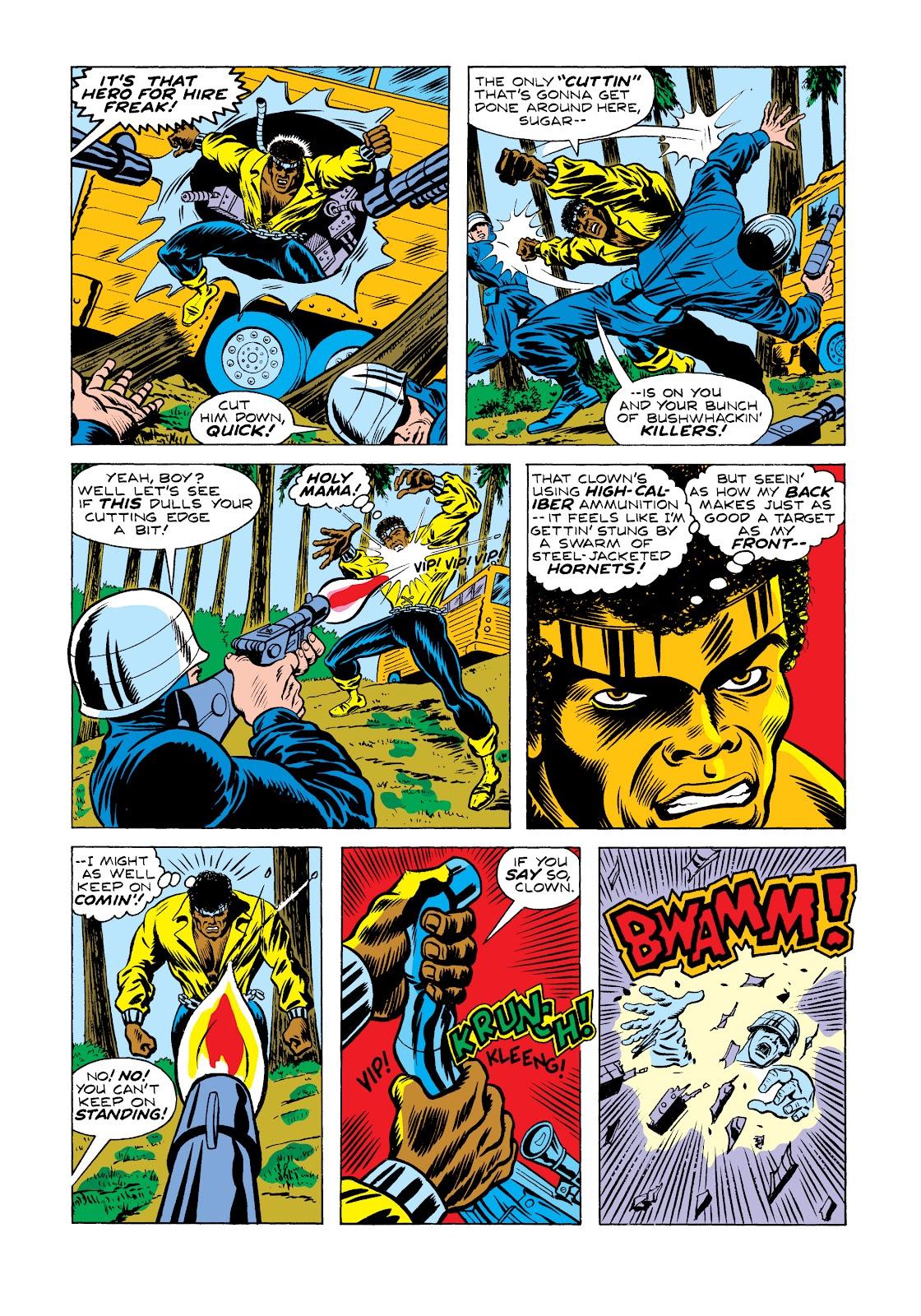 Read online Marvel Masterworks: Luke Cage, Power Man comic -  Issue # TPB 2 (Part 2) - 30