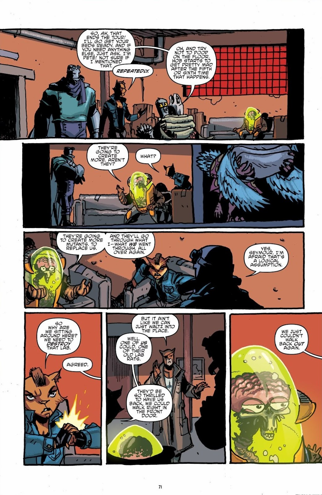 Read online Teenage Mutant Ninja Turtles: The IDW Collection comic -  Issue # TPB 6 (Part 1) - 70