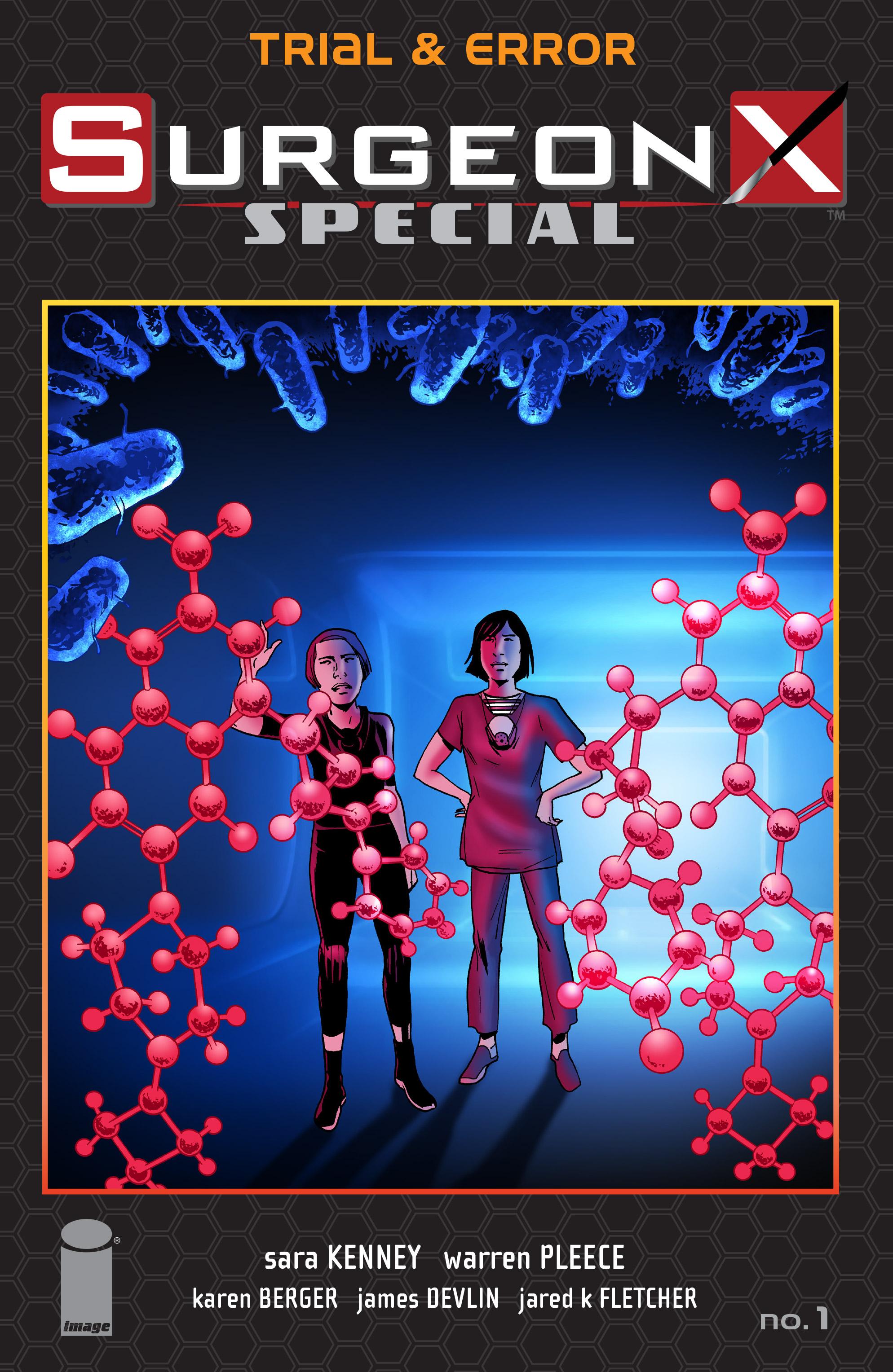Read online Surgeon X Special: Trial & Error comic -  Issue # Full - 1