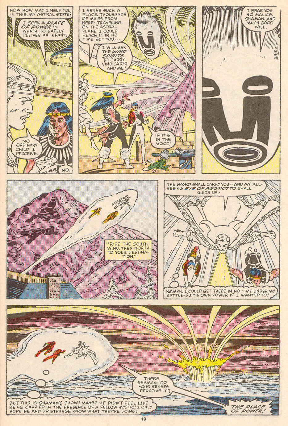 Read online Alpha Flight (1983) comic -  Issue #36 - 20