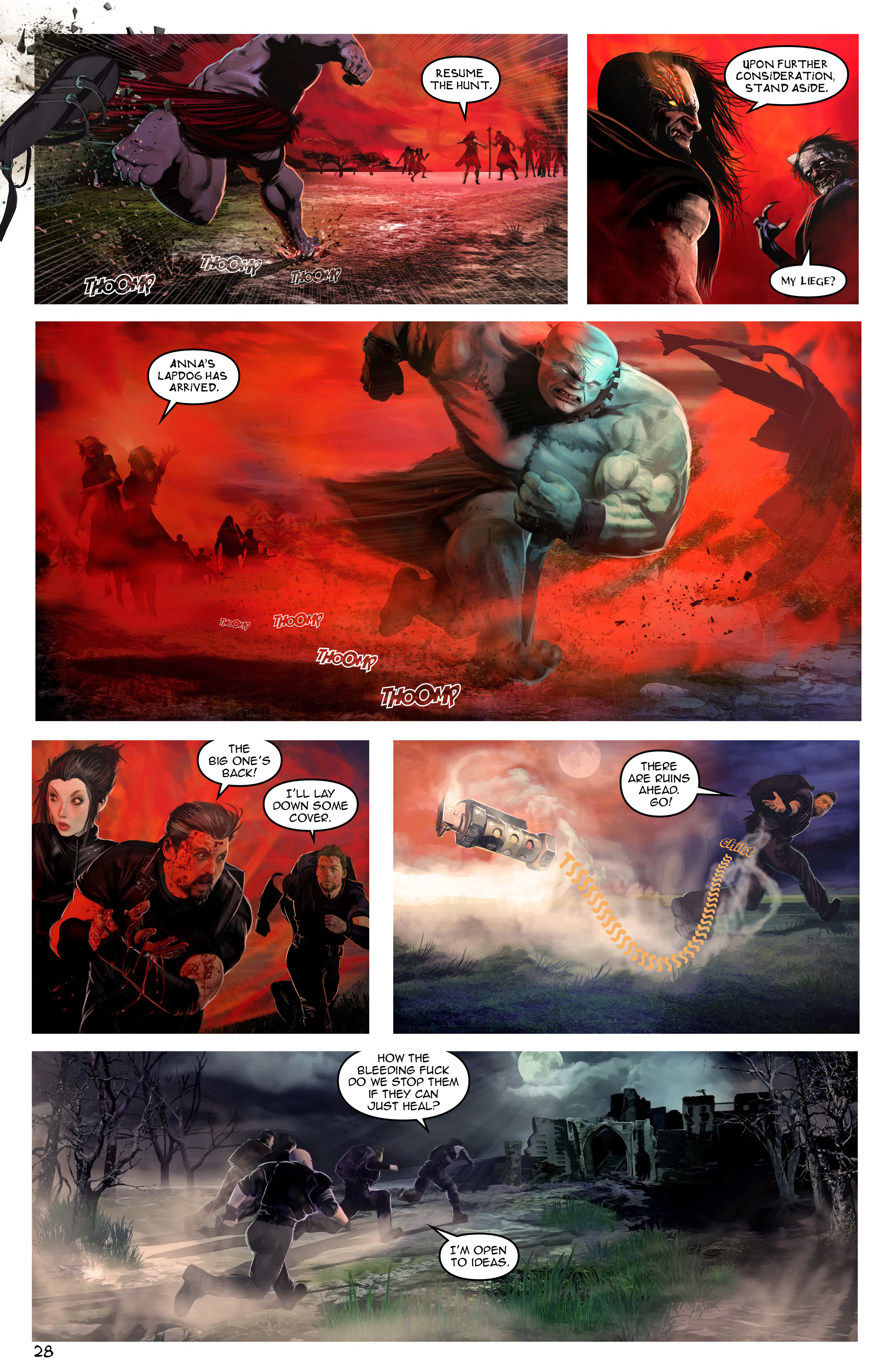 Read online Escape from Jesus Island comic -  Issue #3 - 28