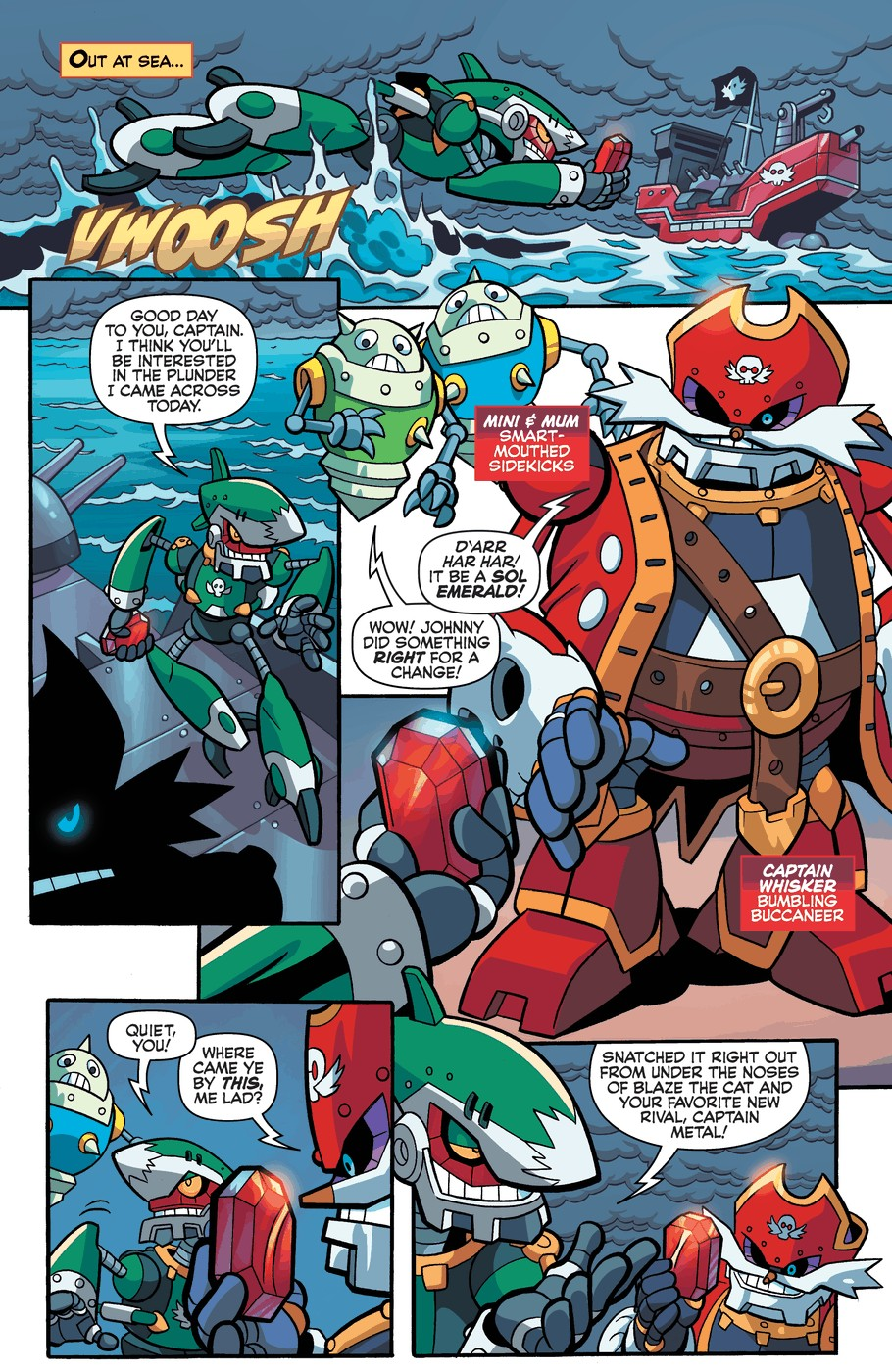 Read online Sonic Universe comic -  Issue #57 - 12