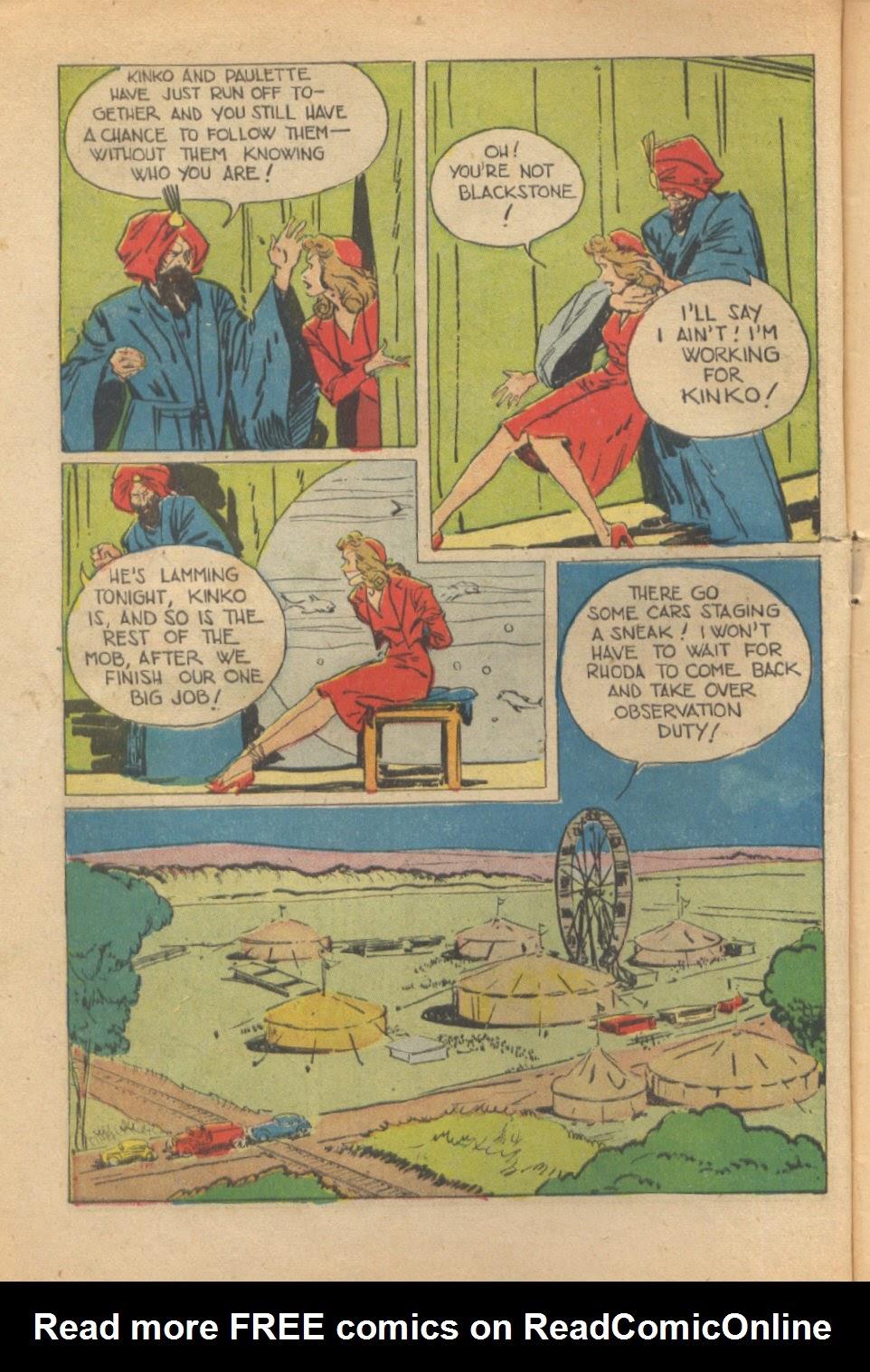 Read online Super-Magician Comics comic -  Issue #37 - 9