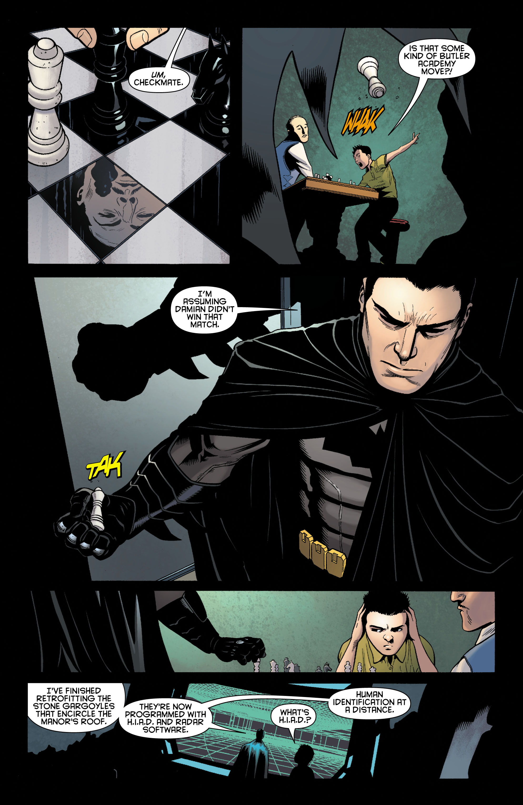 Read online Batman and Robin (2011) comic -  Issue # TPB 1 - 52