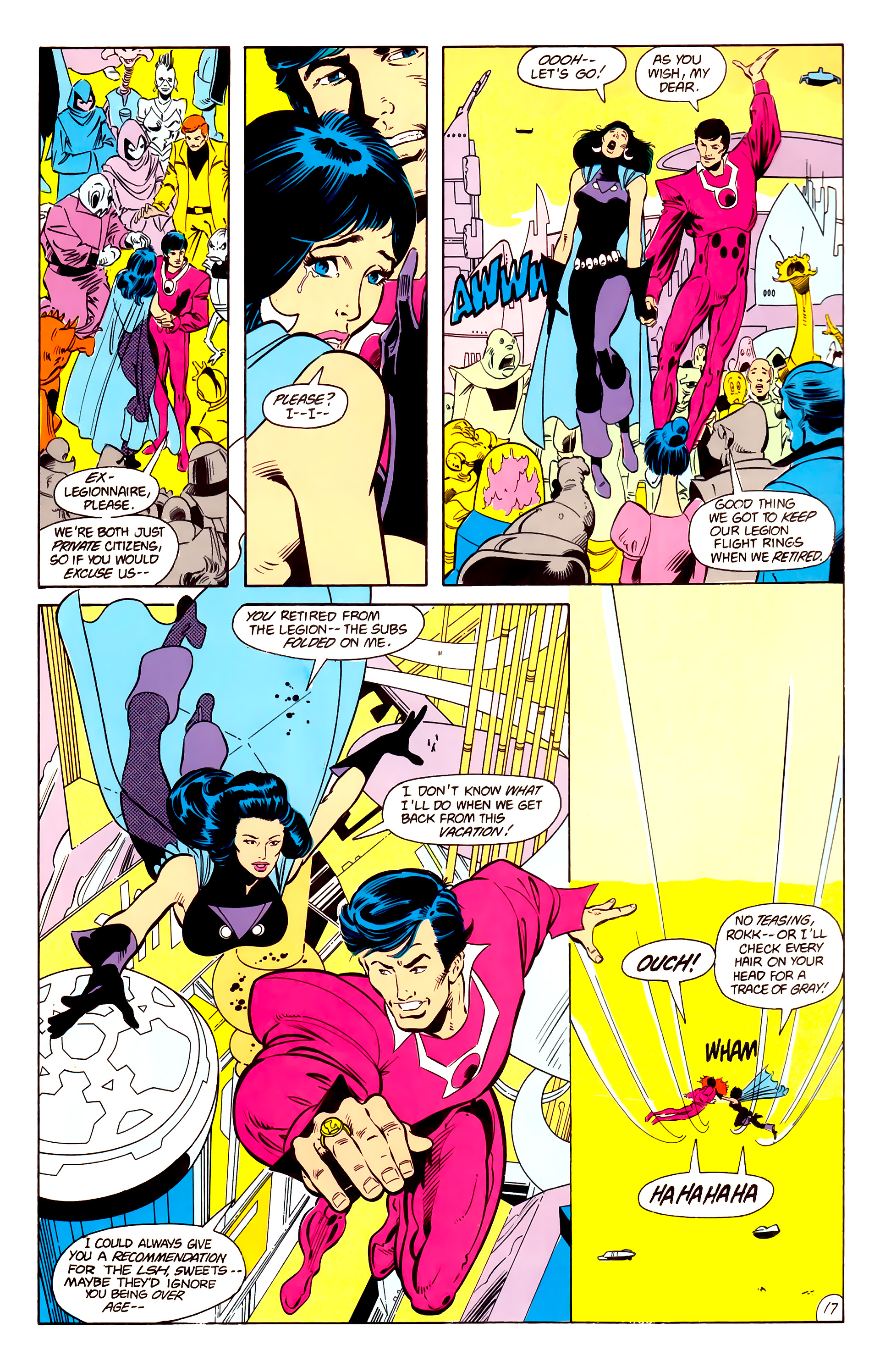 Legion of Super-Heroes (1984) 15 Page 18
