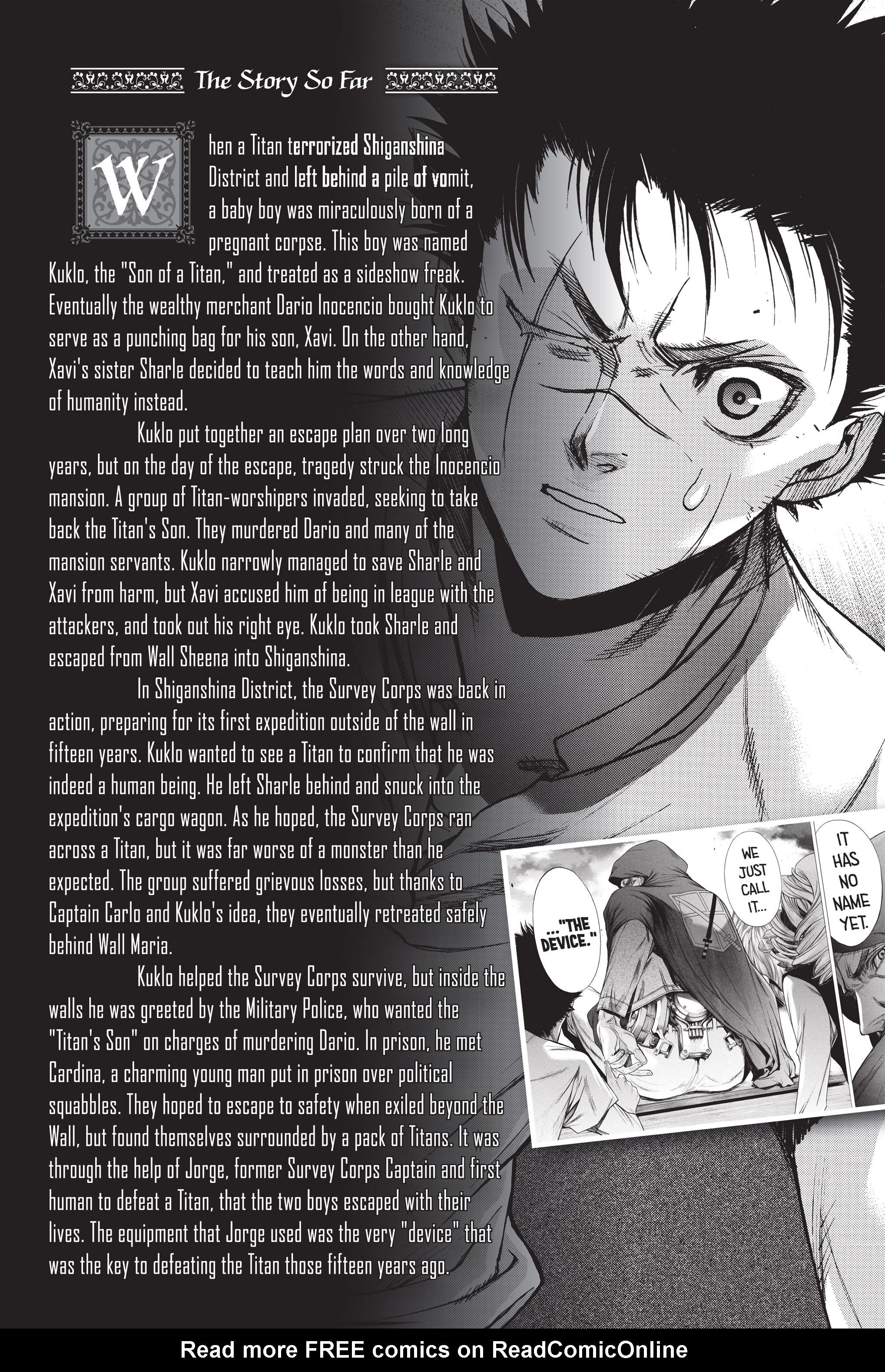 Read online Attack on Titan: Before the Fall comic -  Issue #5 - 7
