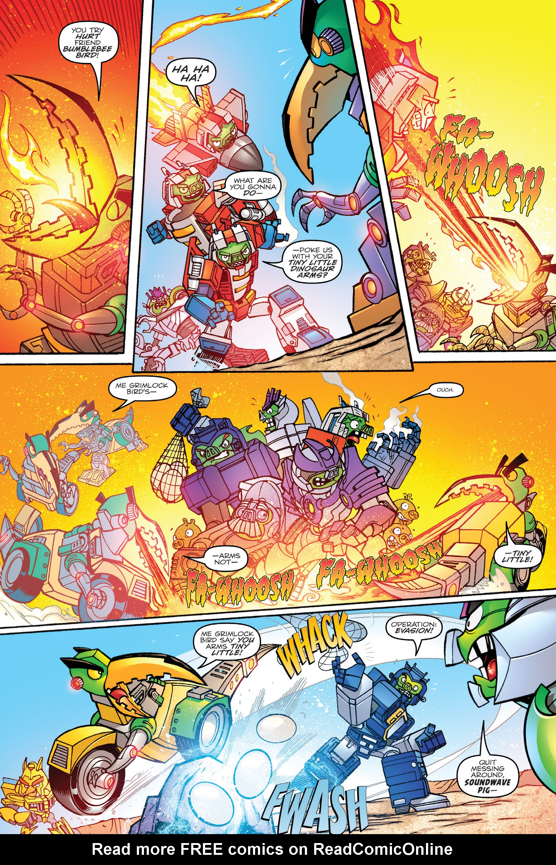 Read online Angry Birds Transformers: Age of Eggstinction comic -  Issue # Full - 24