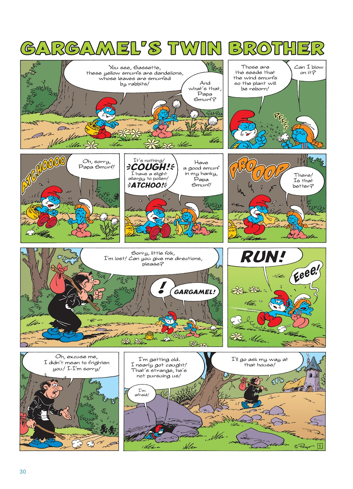 Read online The Smurfs comic -  Issue #17 - 30