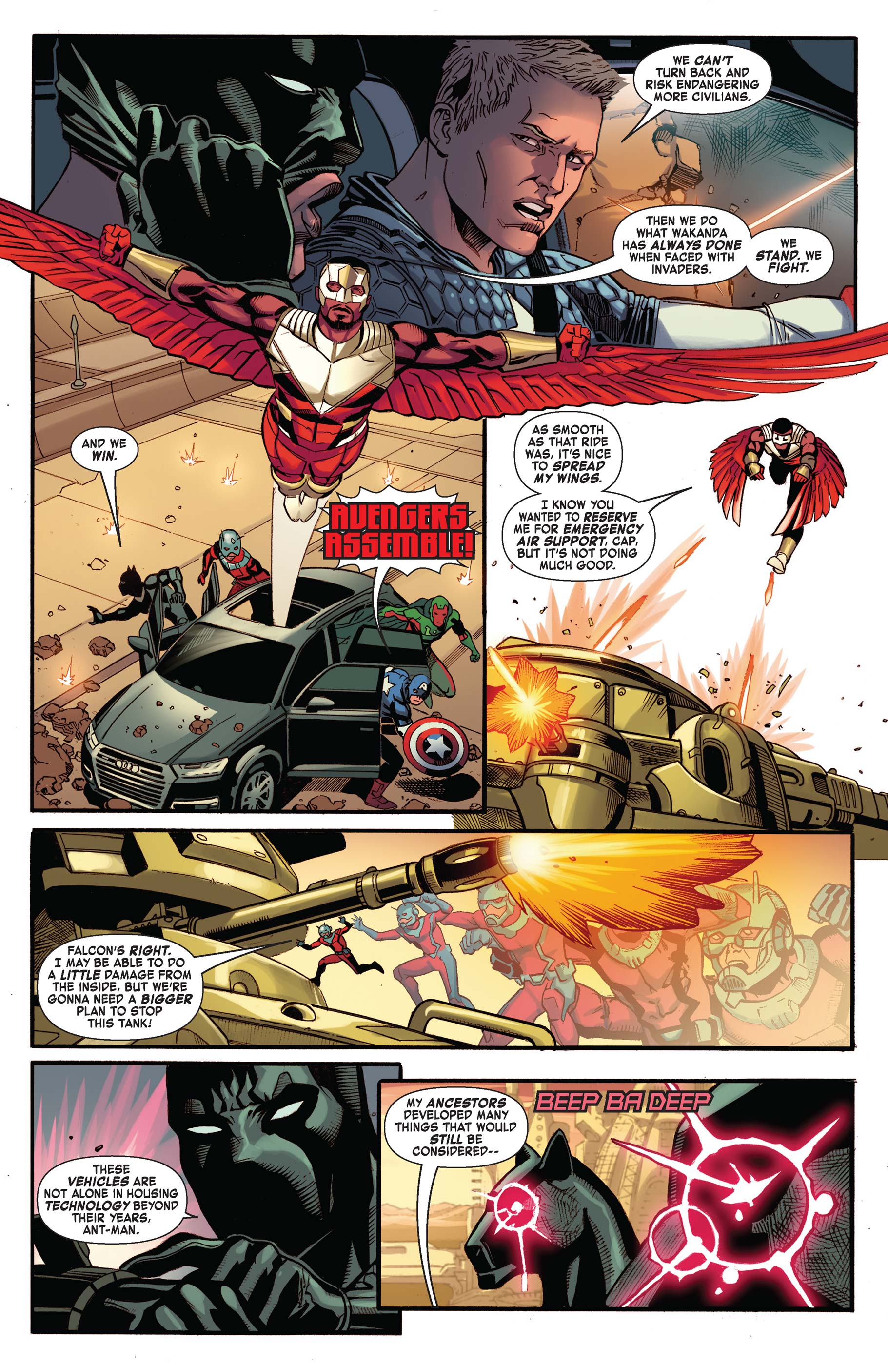 Read online Avengers: King of the Road comic -  Issue # Full - 6