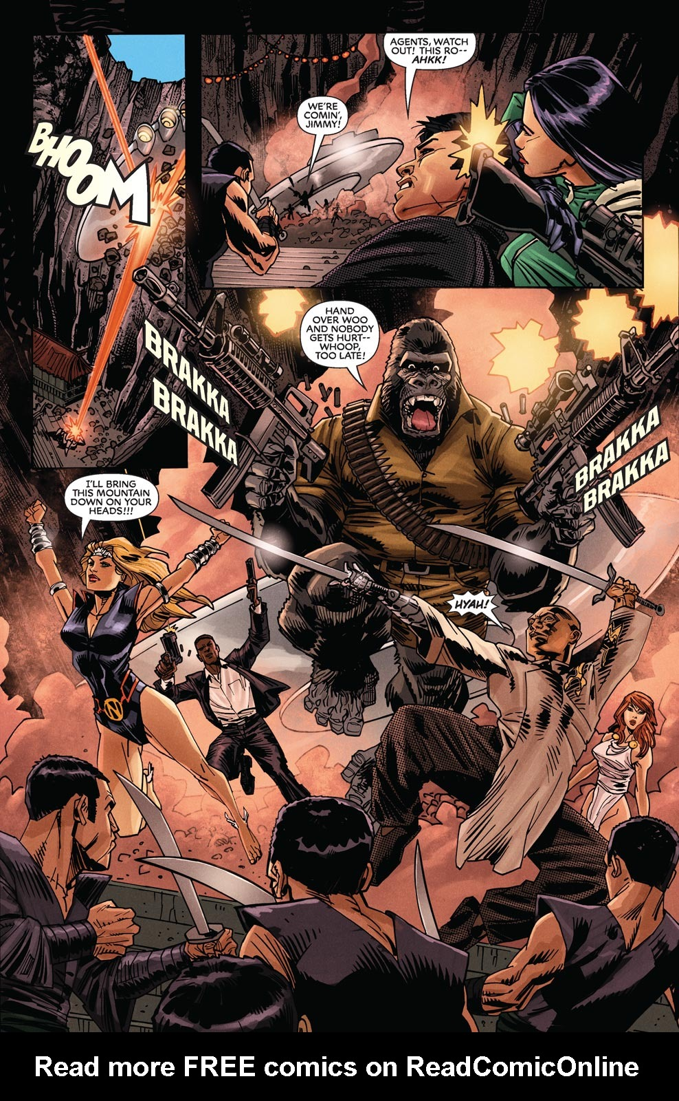 Read online Agents Of Atlas (2009) comic -  Issue #9 - 17