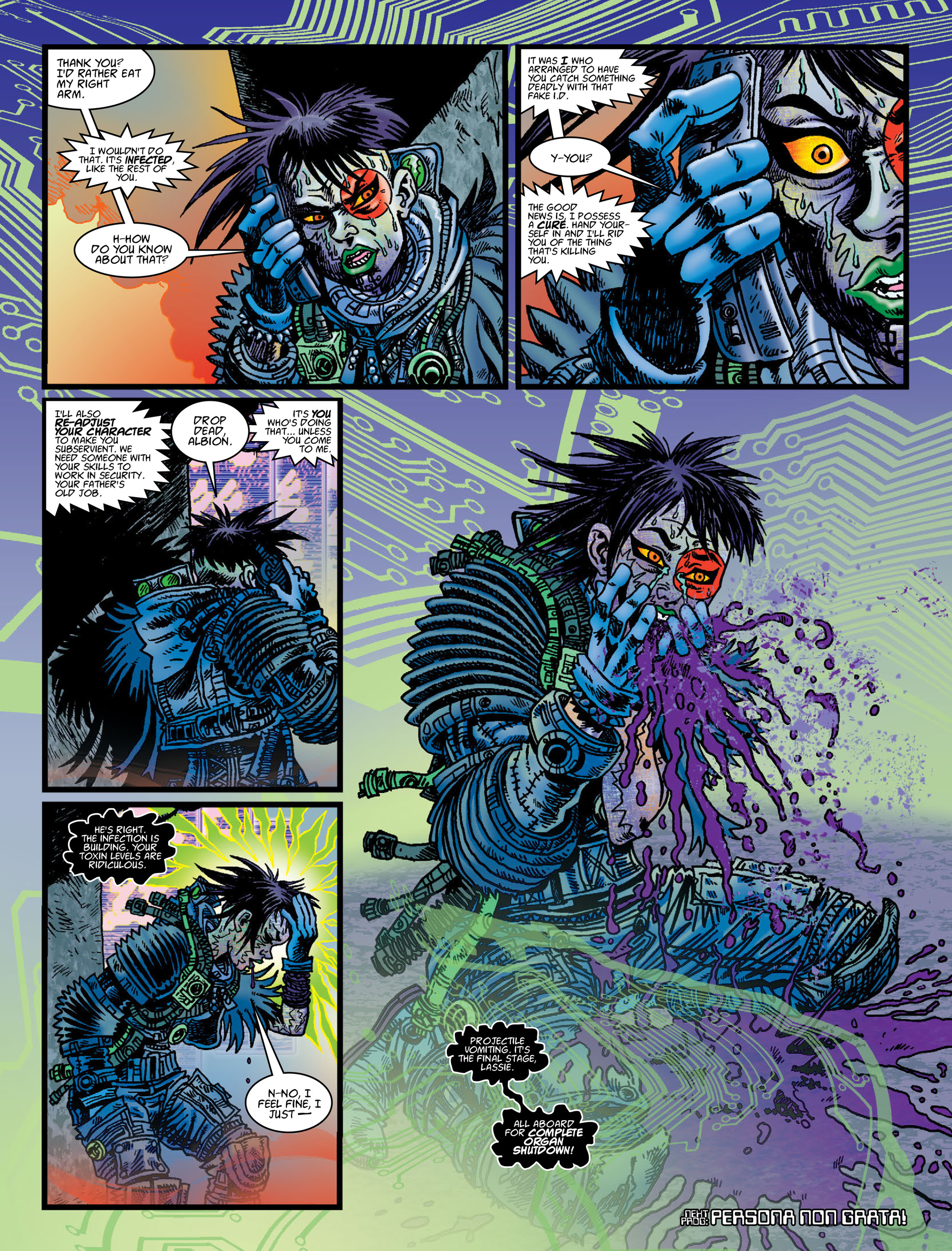 Read online 2000 AD comic -  Issue #2005 - 29