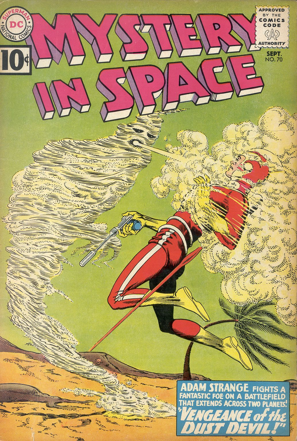 Mystery in Space (1951) issue 70 - Page 1