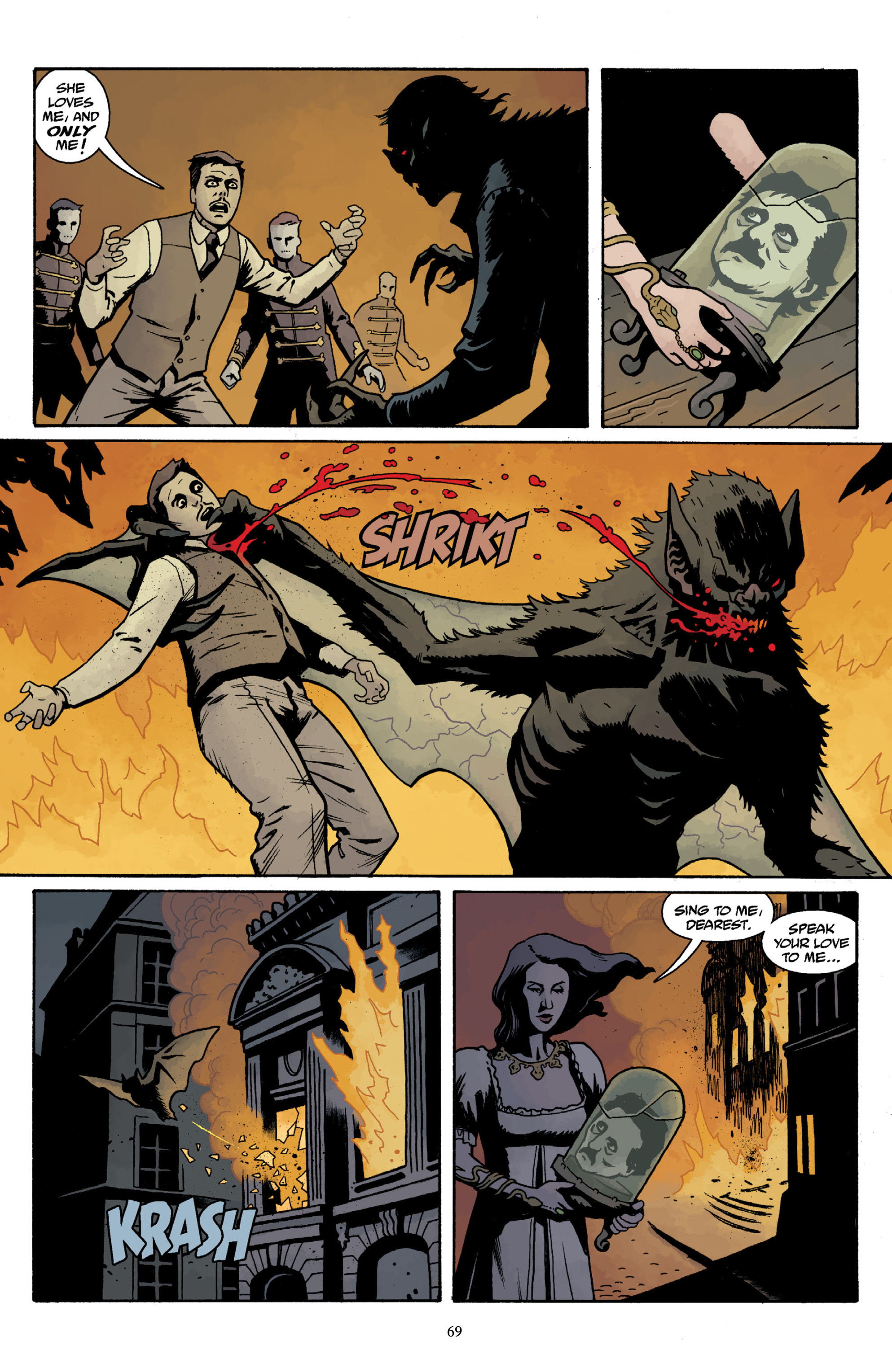 Read online Baltimore Volume 3: A Passing Stranger and Other Stories comic -  Issue # Full - 71
