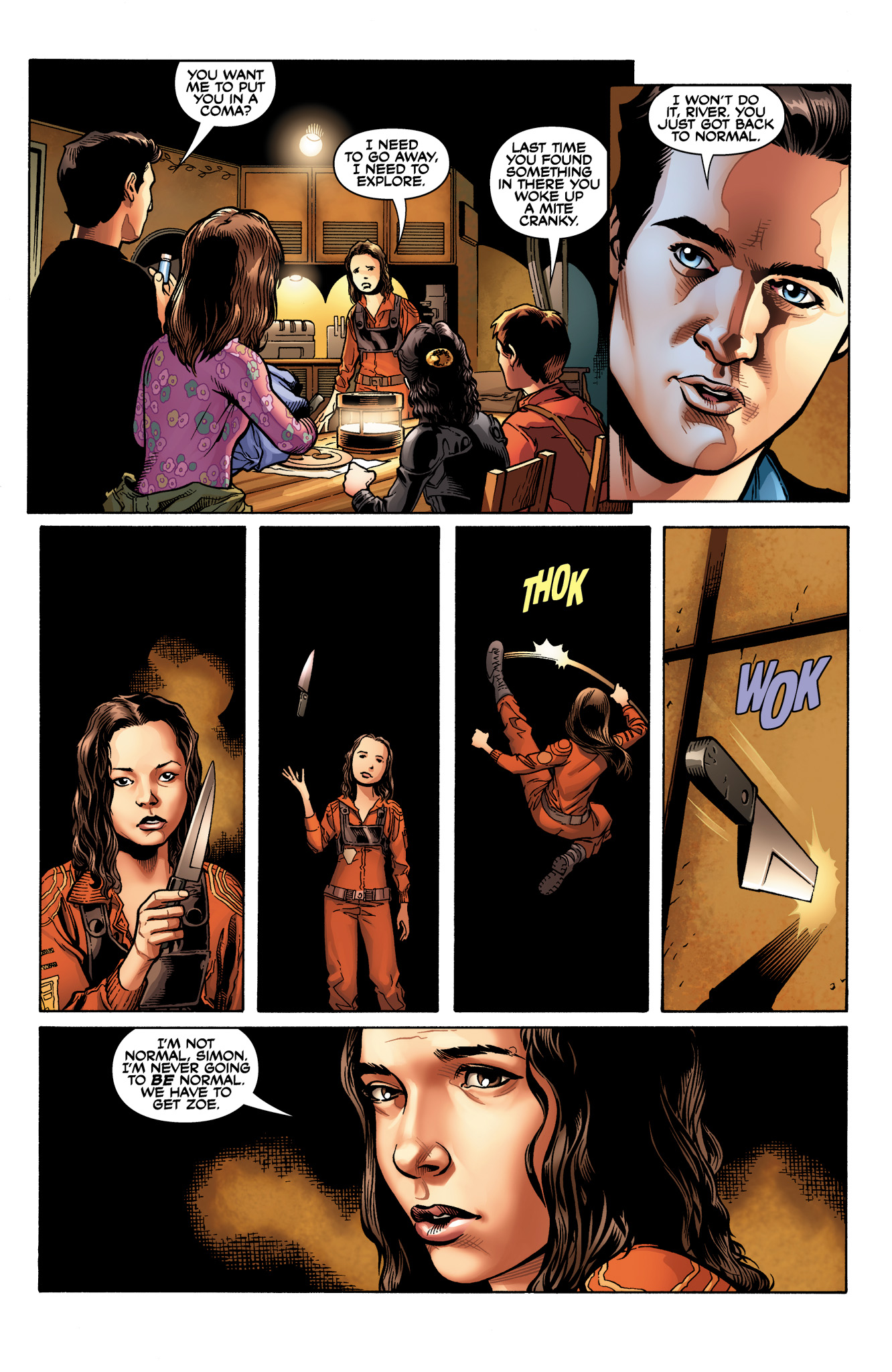 Read online Serenity: Firefly Class 03-K64  Leaves on the Wind comic -  Issue #2 - 13