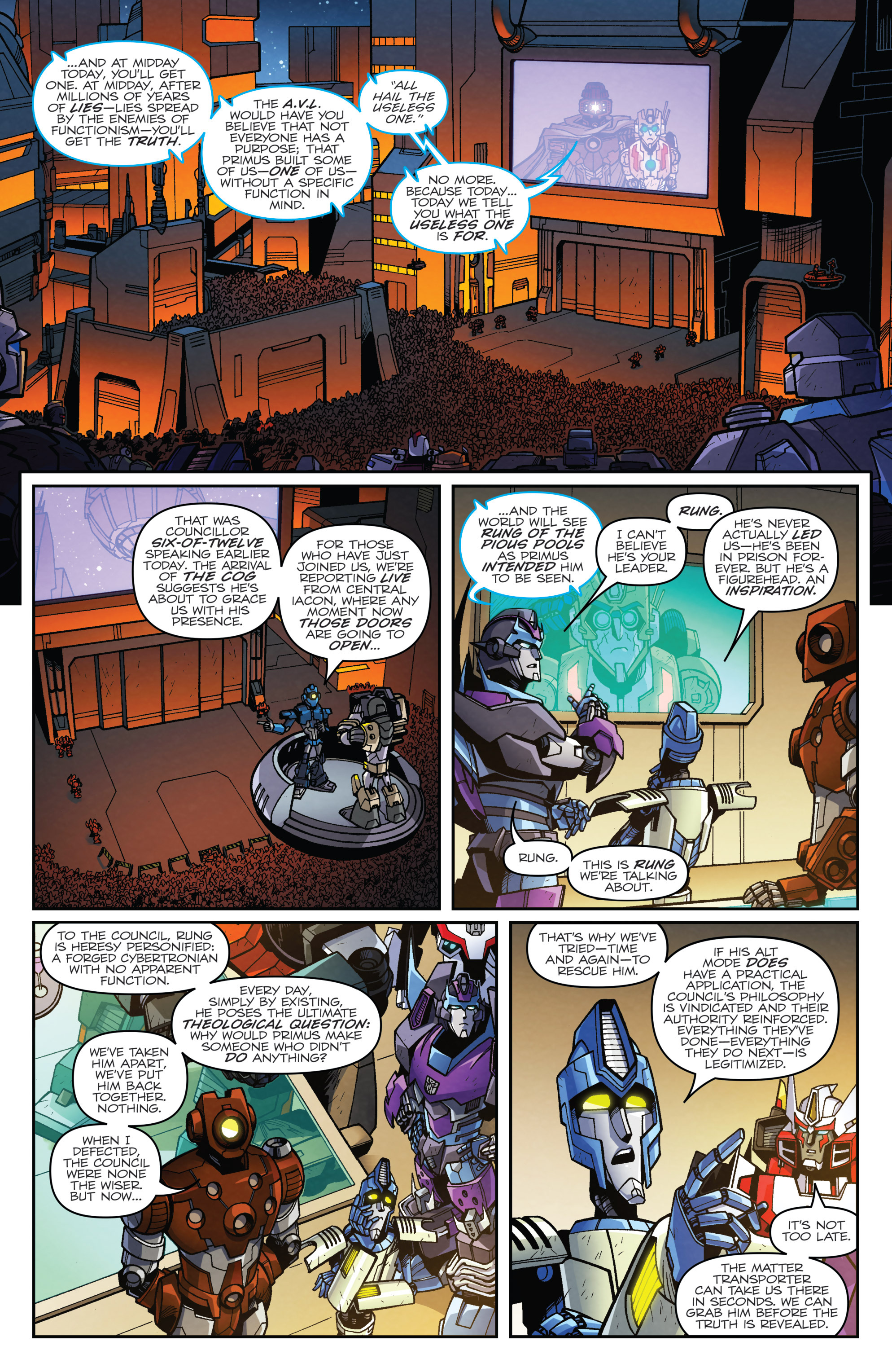 Read online Transformers: Lost Light comic -  Issue #3 - 19