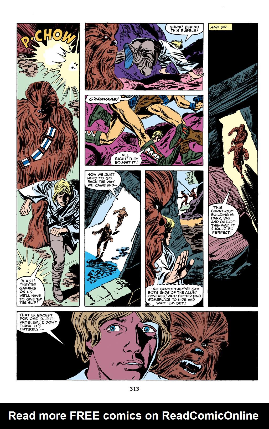 Read online Star Wars Omnibus comic -  Issue # Vol. 16 - 308