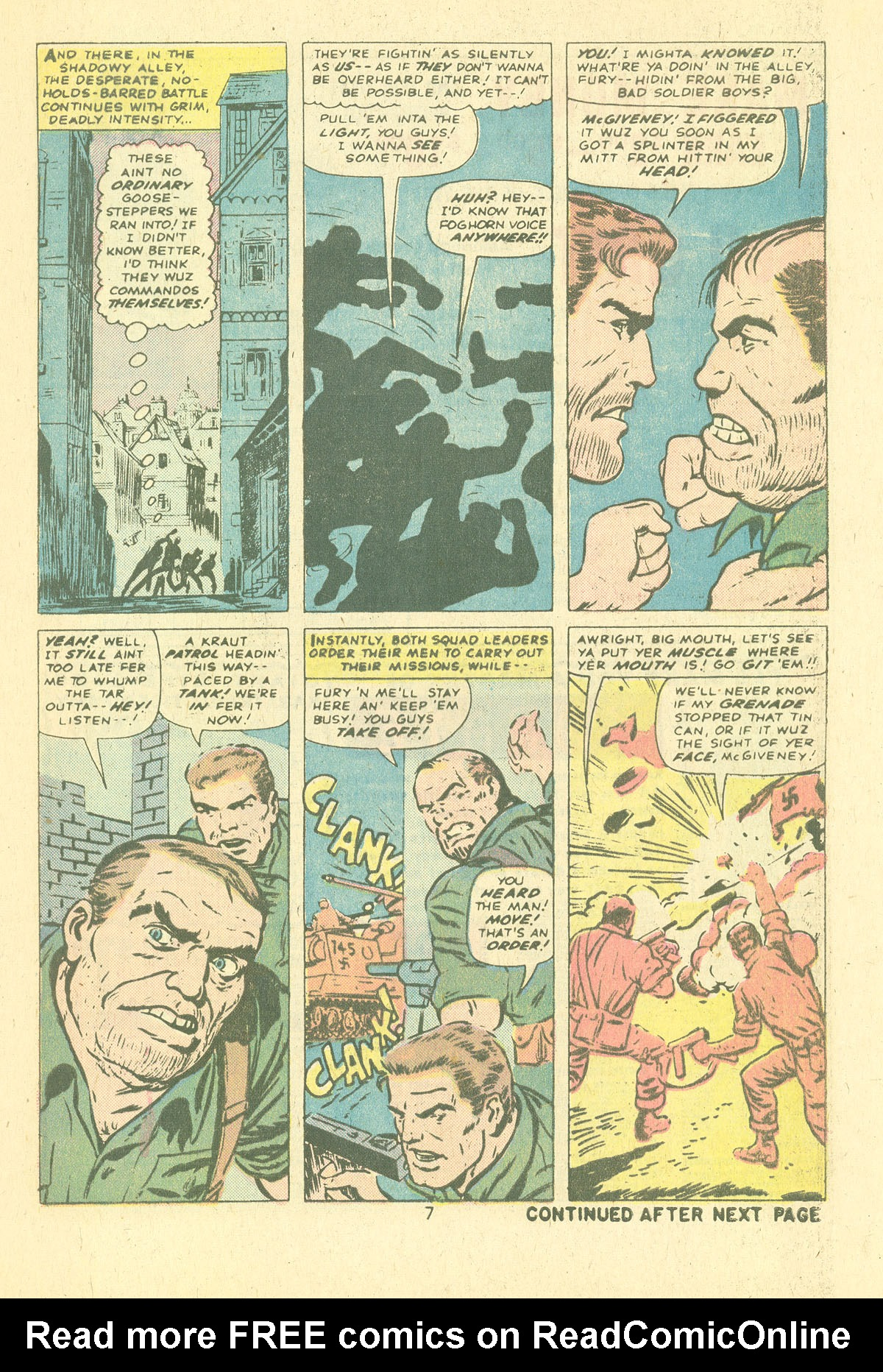 Read online Sgt. Fury comic -  Issue #124 - 9