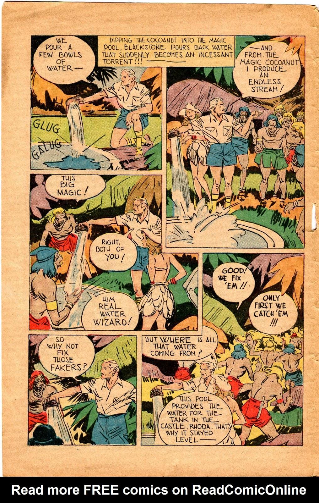 Read online Super-Magician Comics comic -  Issue #34 - 14