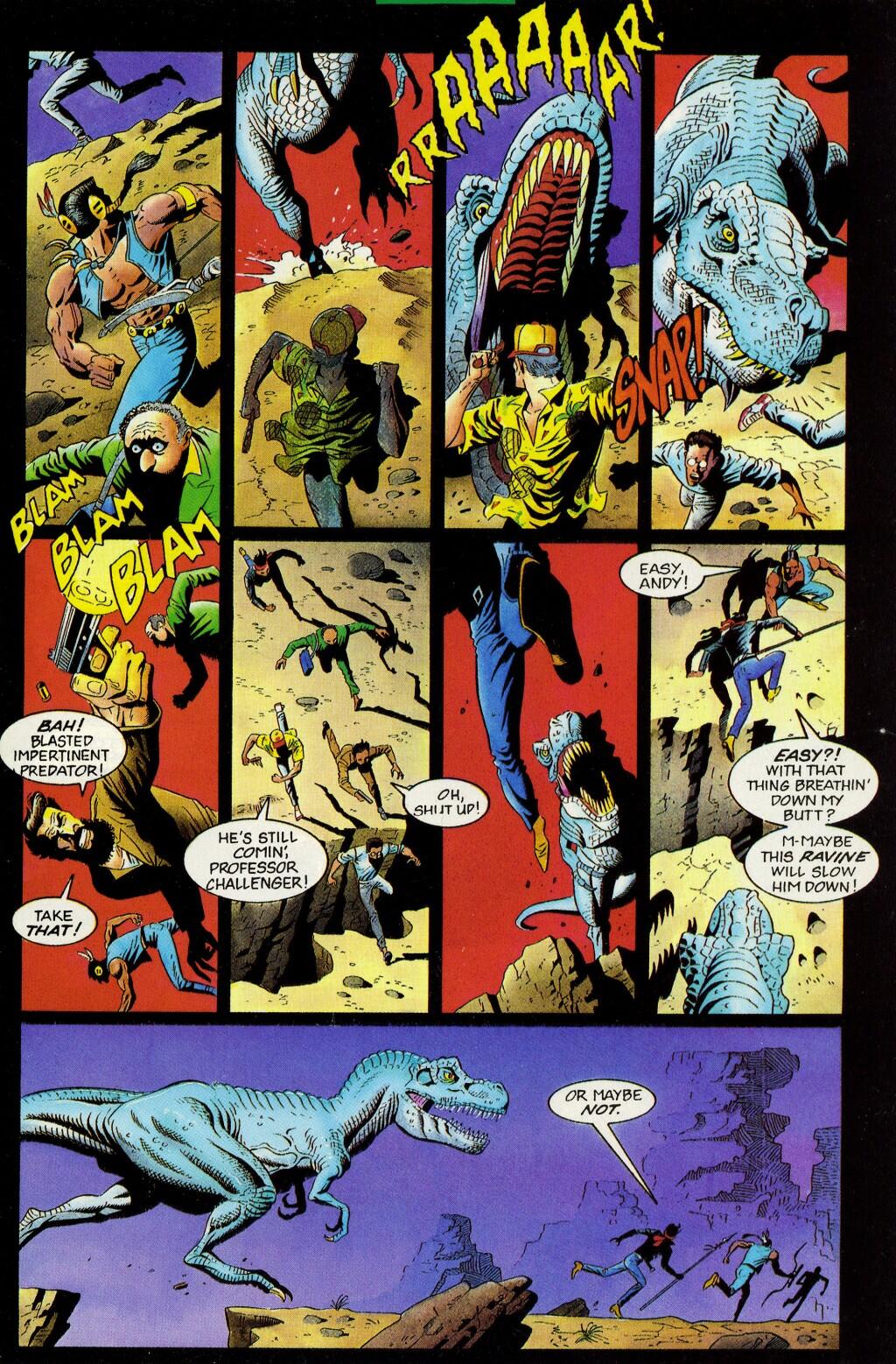 Read online Turok, Dinosaur Hunter (1993) comic -  Issue #33 - 2