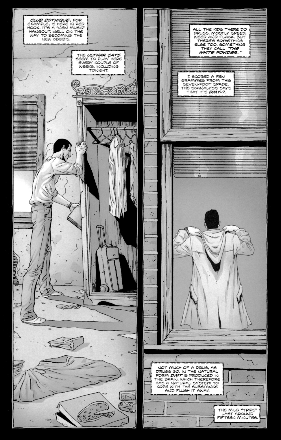 Read online Alan Moore's The Courtyard comic -  Issue #1 - 14