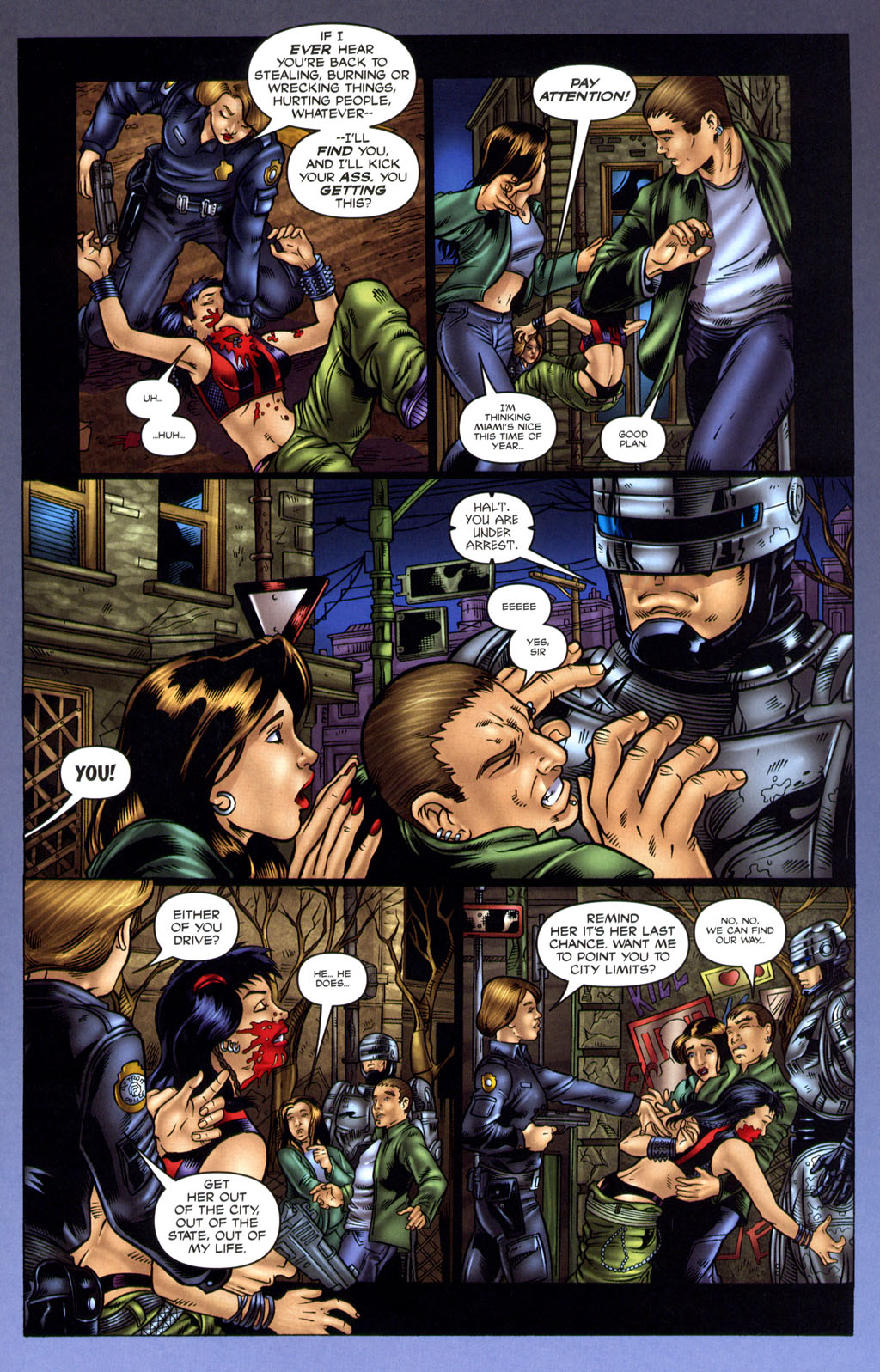 Read online Robocop: Wild Child comic -  Issue # Full - 15
