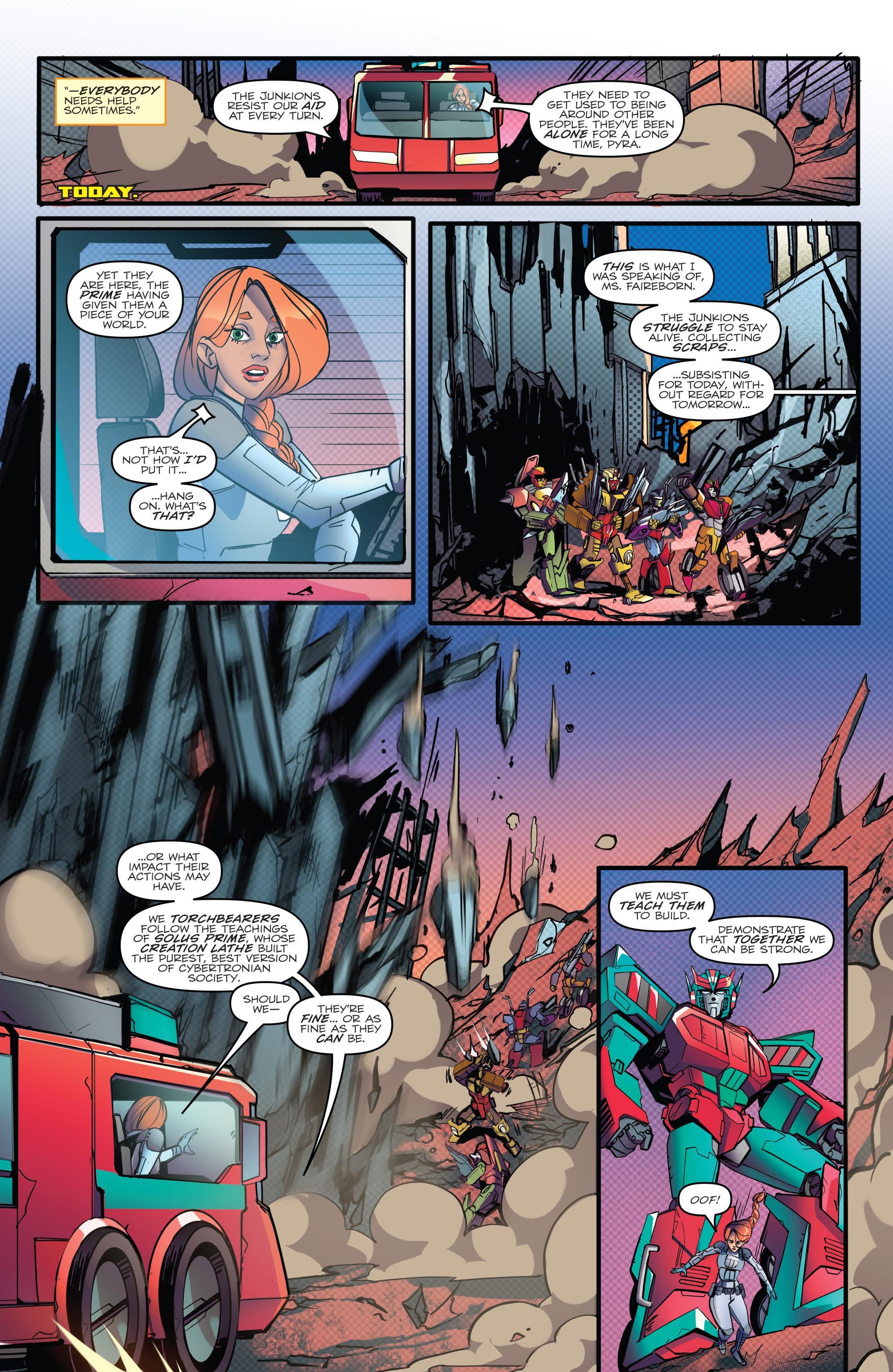 Read online Optimus Prime comic -  Issue #7 - 20