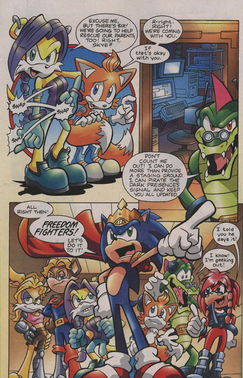 Read online Sonic Universe comic -  Issue #7 - 9