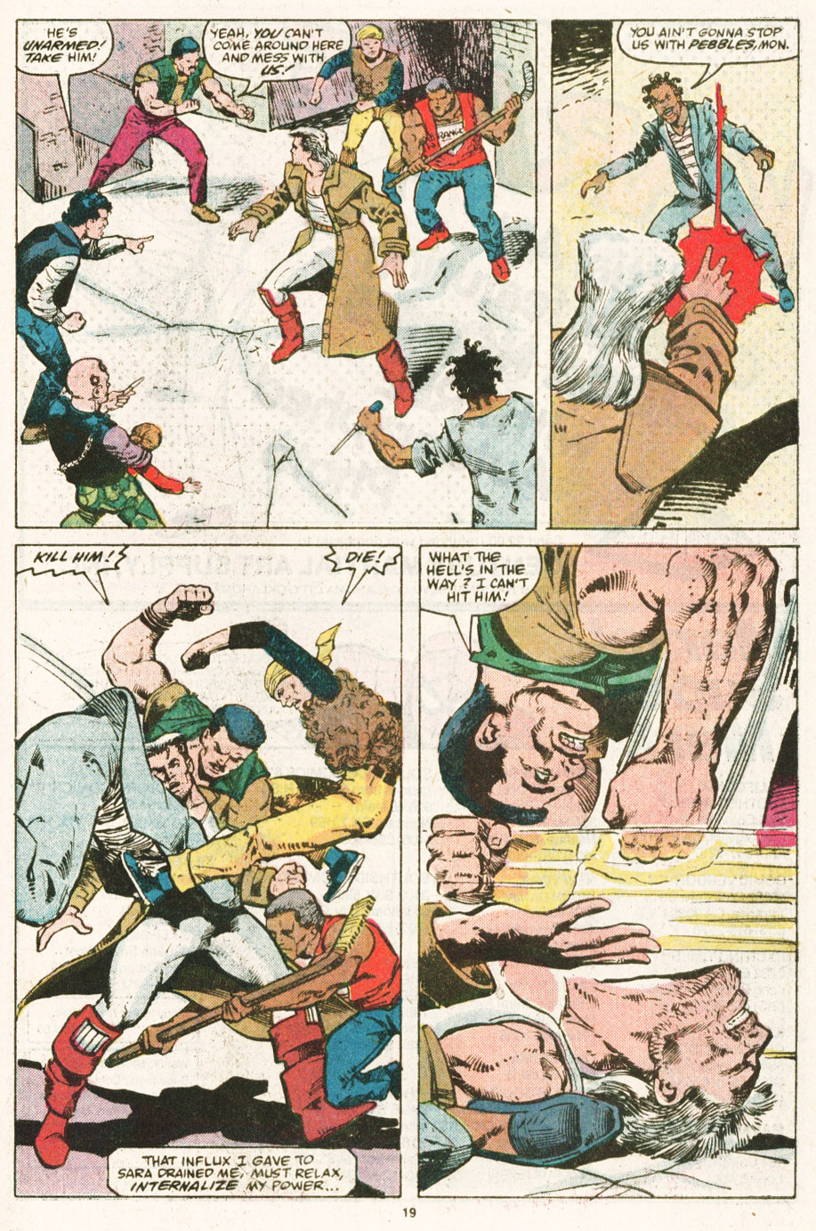 Read online Justice (1986) comic -  Issue #6 - 20