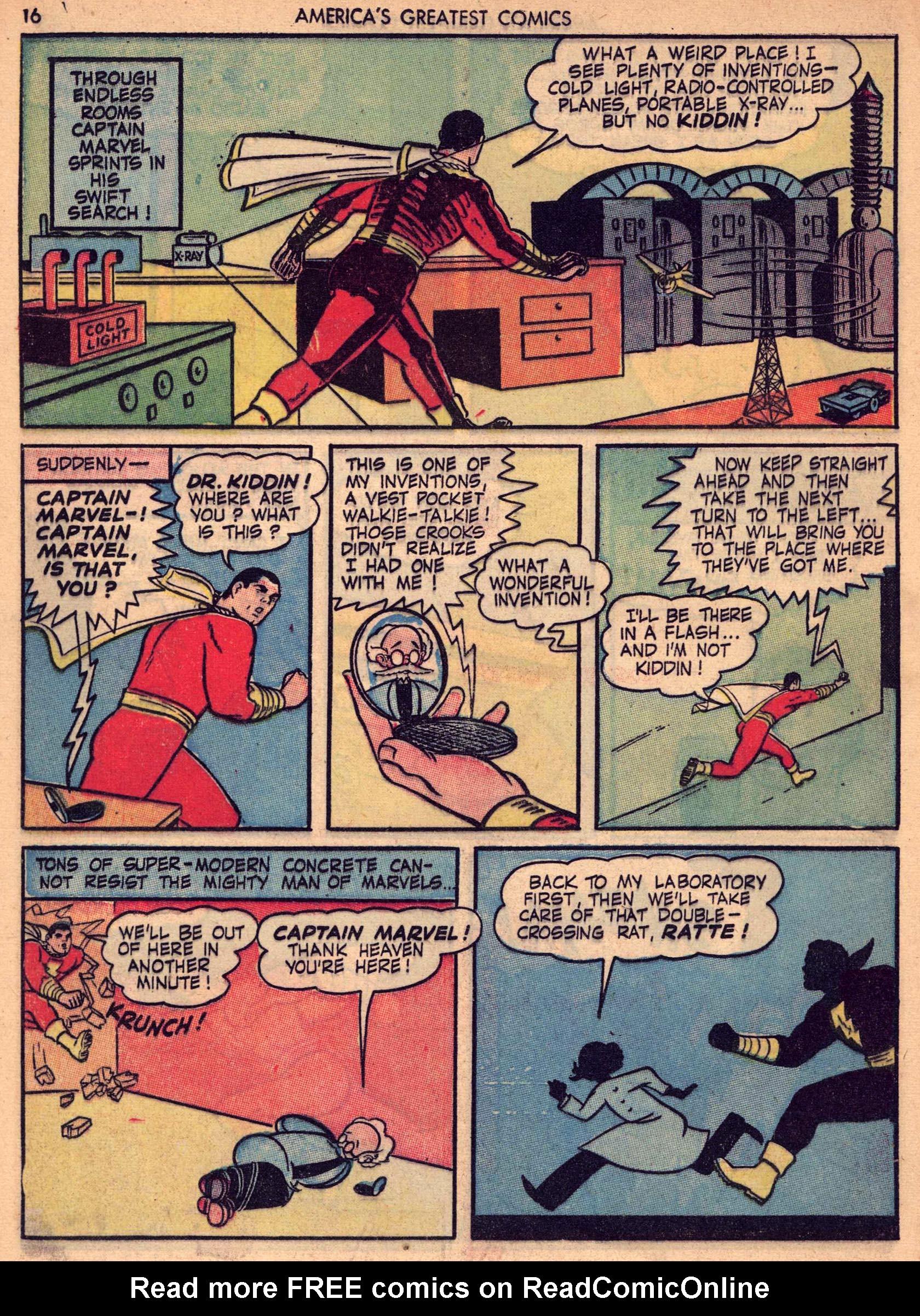 Read online America's Greatest Comics comic -  Issue #7 - 15