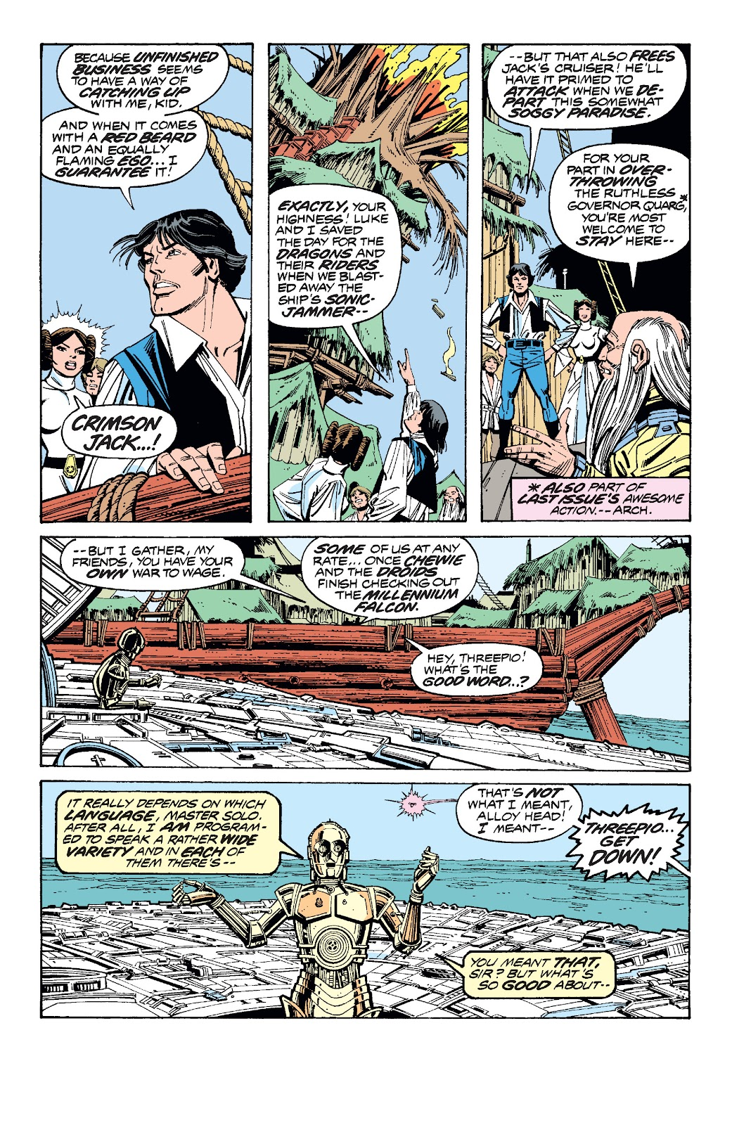 Read online Star Wars Legends: The Original Marvel Years - Epic Collection comic -  Issue # TPB 1 (Part 3) - 65