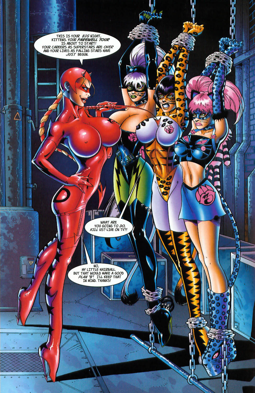 Read online 3 Little Kittens: Purrr-fect Weapons comic -  Issue #3 - 4