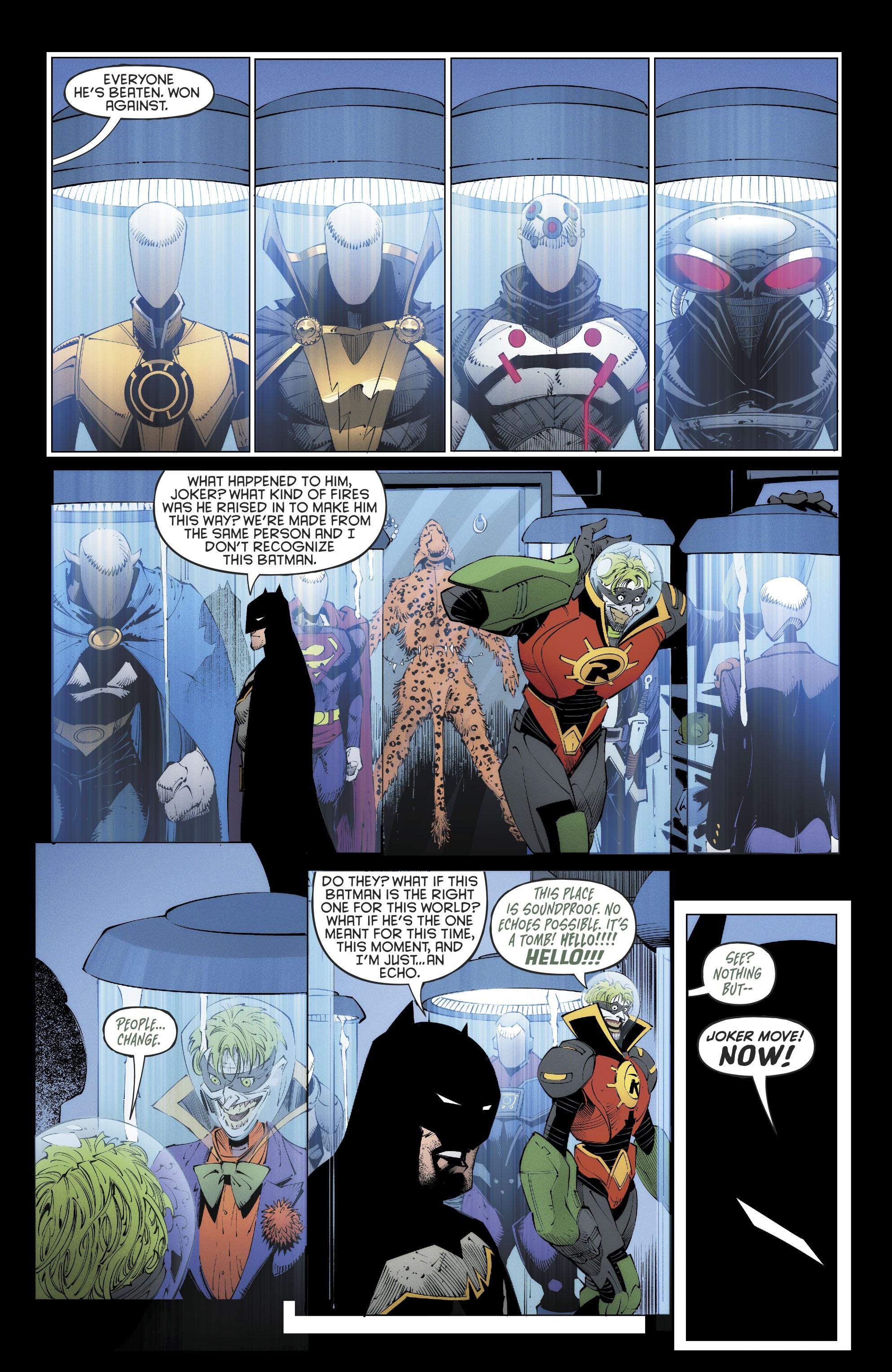 《蝙蝠俠:地球的最後騎士》最終回揭開了殺死達克賽德的「歐米茄」驚人真面目!