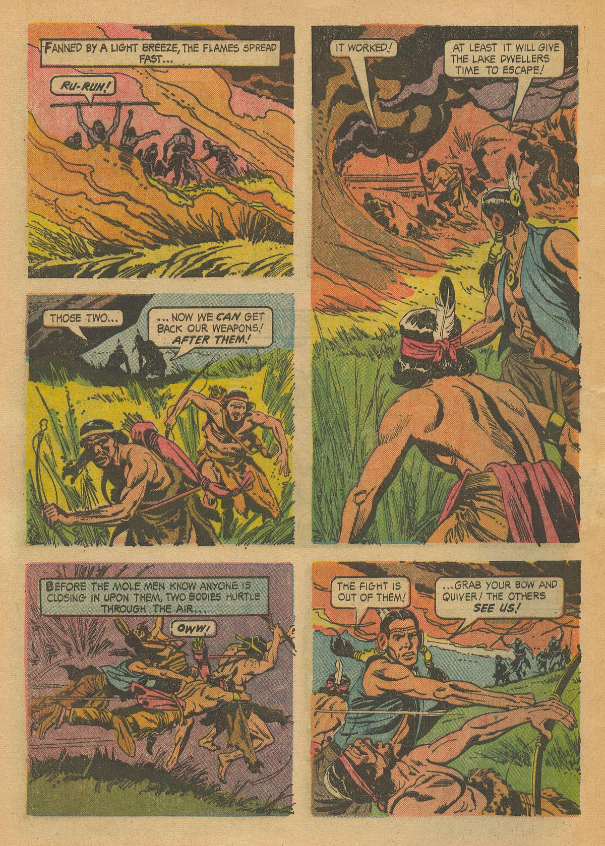 Read online Turok, Son of Stone comic -  Issue #43 - 32