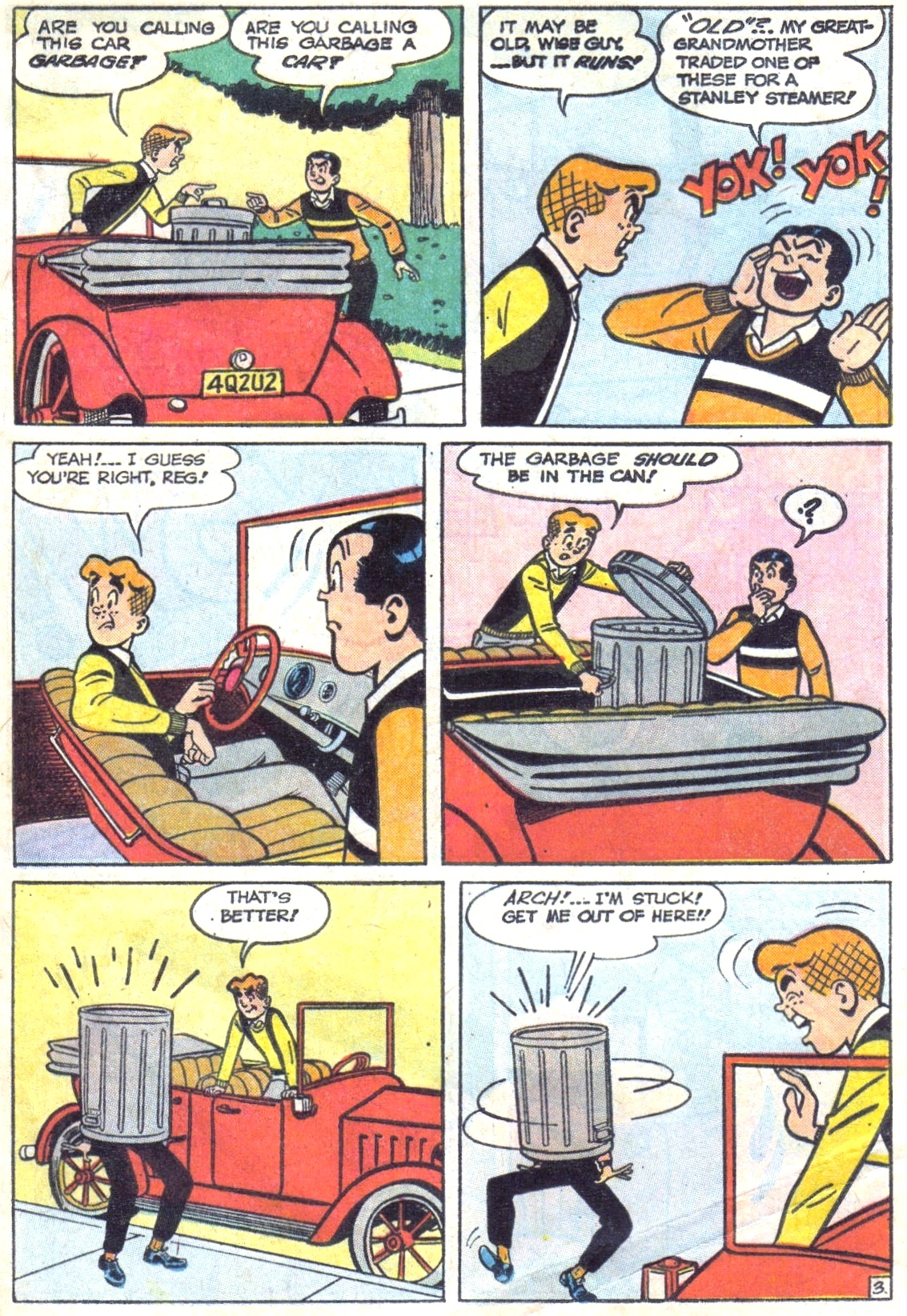Read online Archie (1960) comic -  Issue #148 - 5